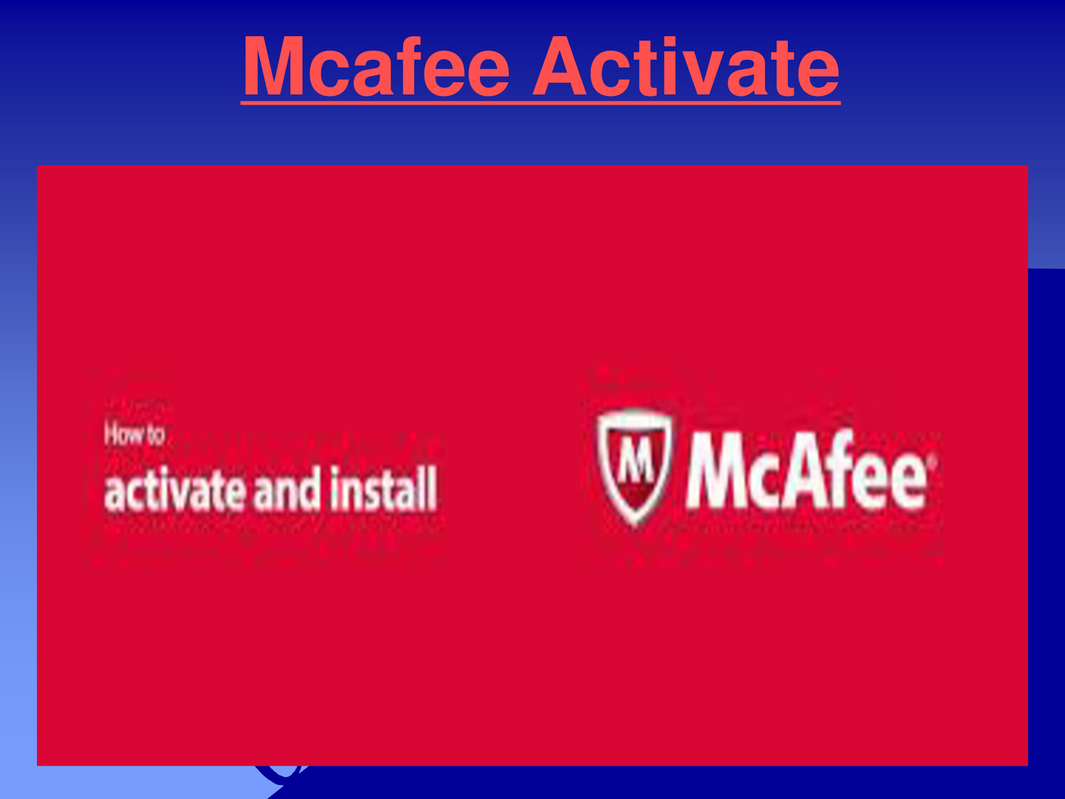 Mcafee activate & Mcafee Com Activate pdf | DocDroid