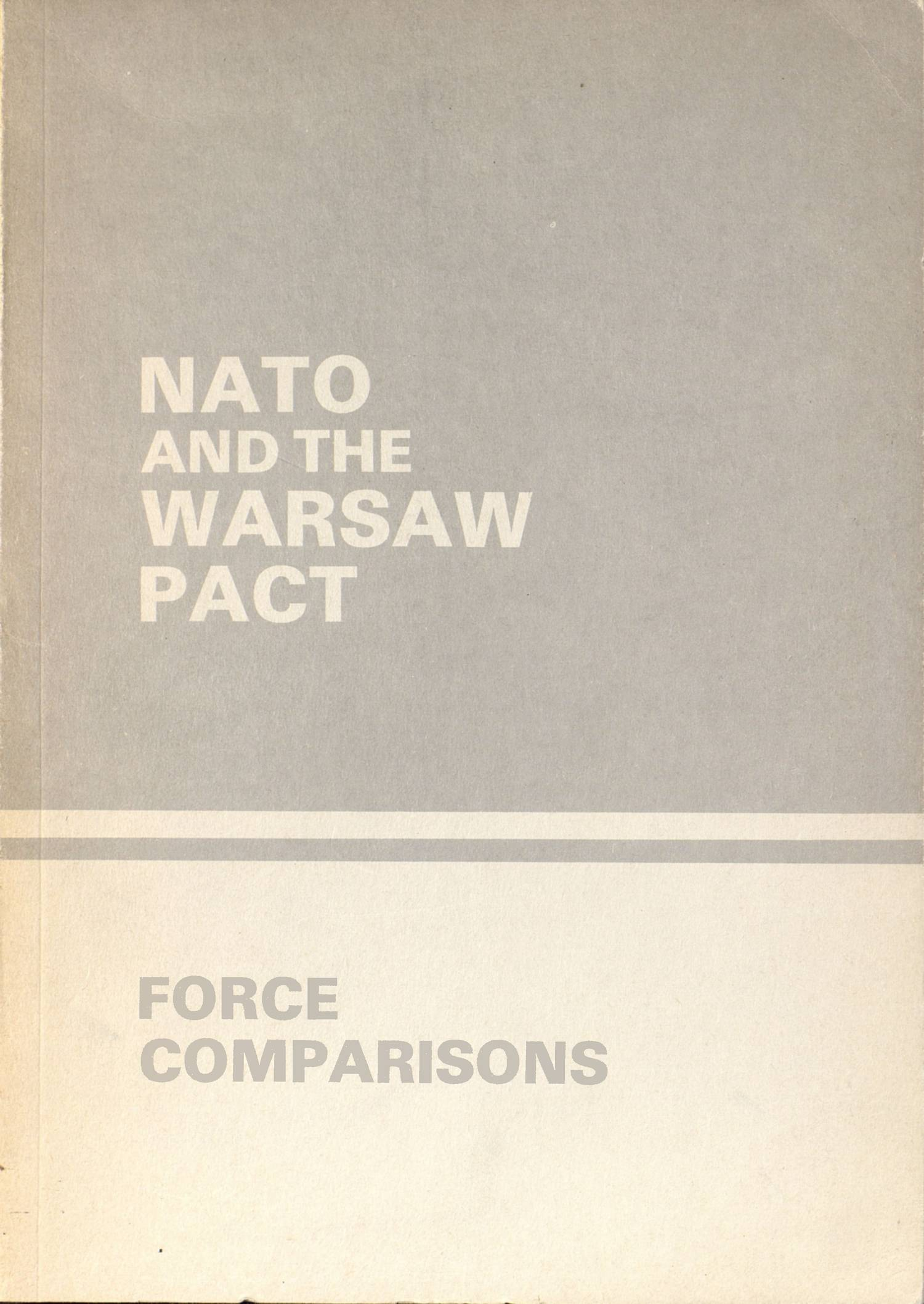 nato and the warsaw pact essay Creation of nato the north atlantic treaty organization (nato) is a regional defense alliance created by the north atlantic treaty nato's purpose is to improve the strength, well being, and freedom of its members through a system of collective security.