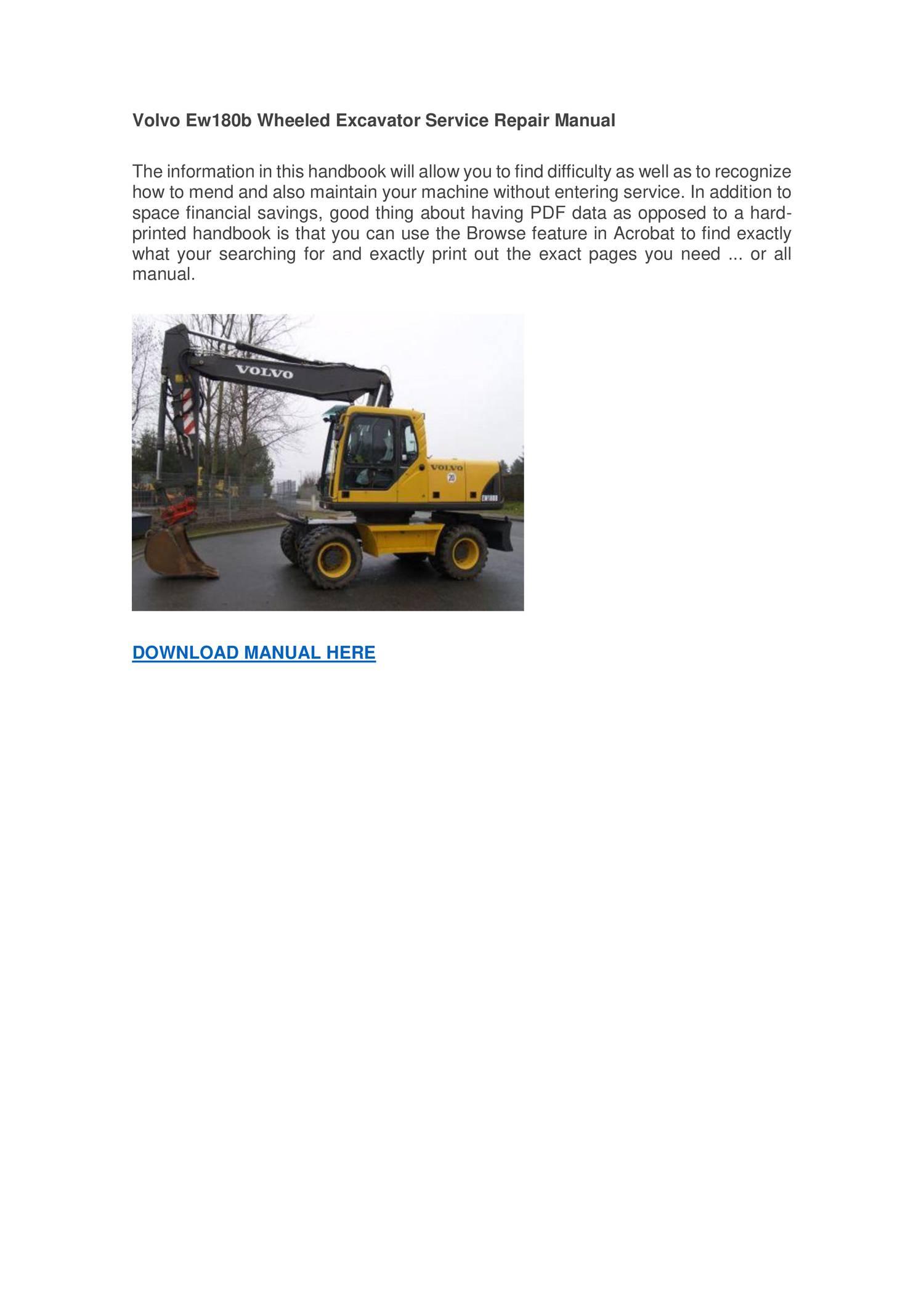 crane machine repair manual