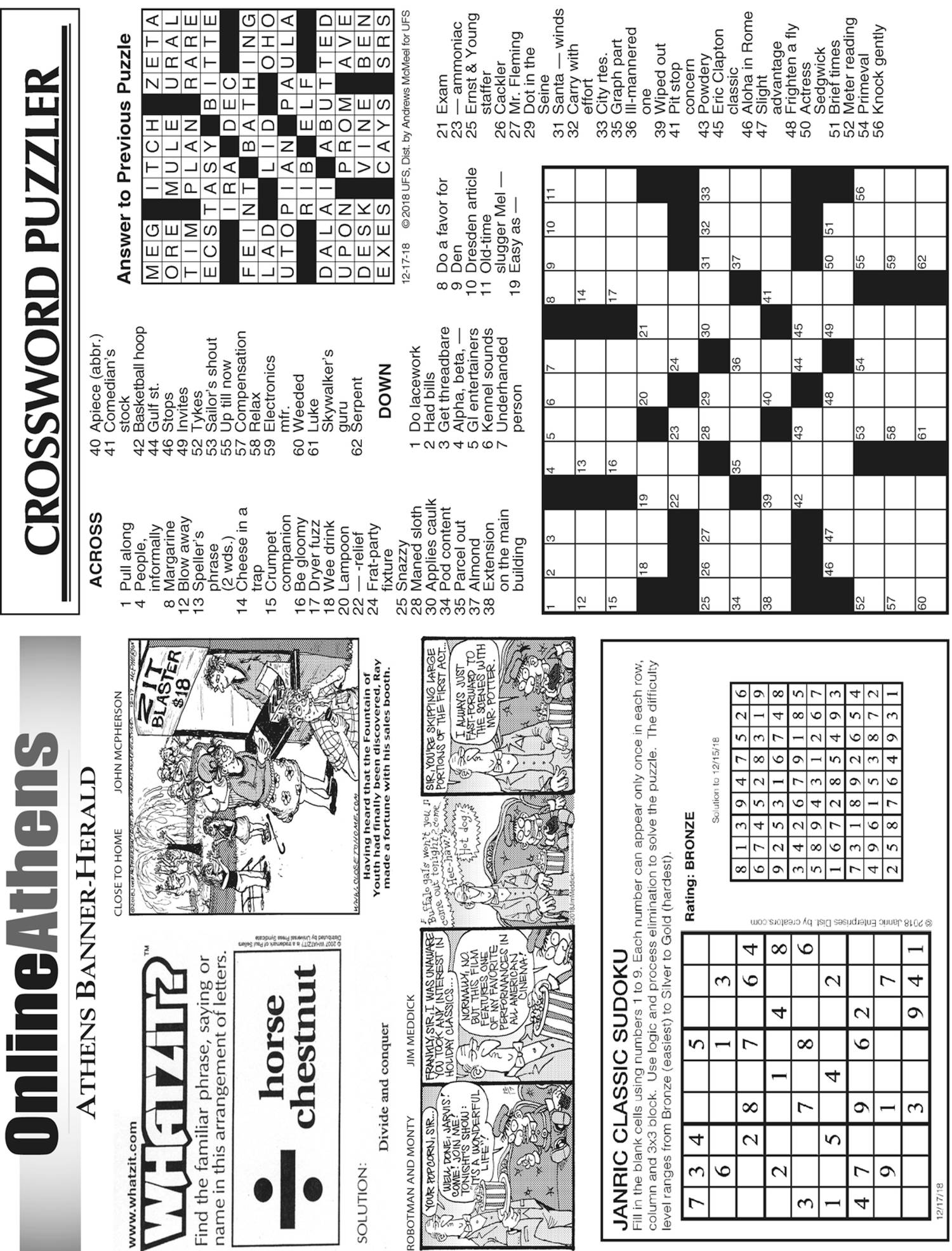 Underhanded Crossword Lasopaama