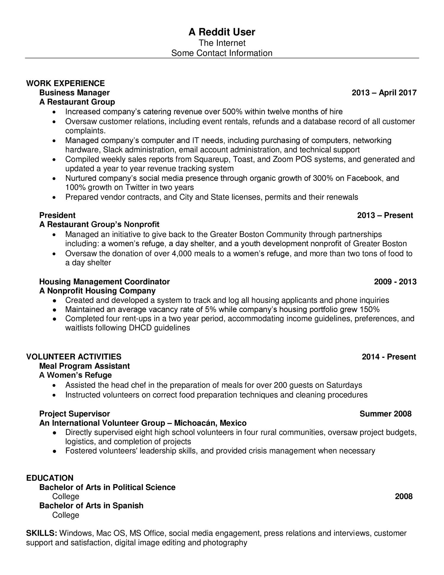 how to write a resume reddit 28 images reddit resume