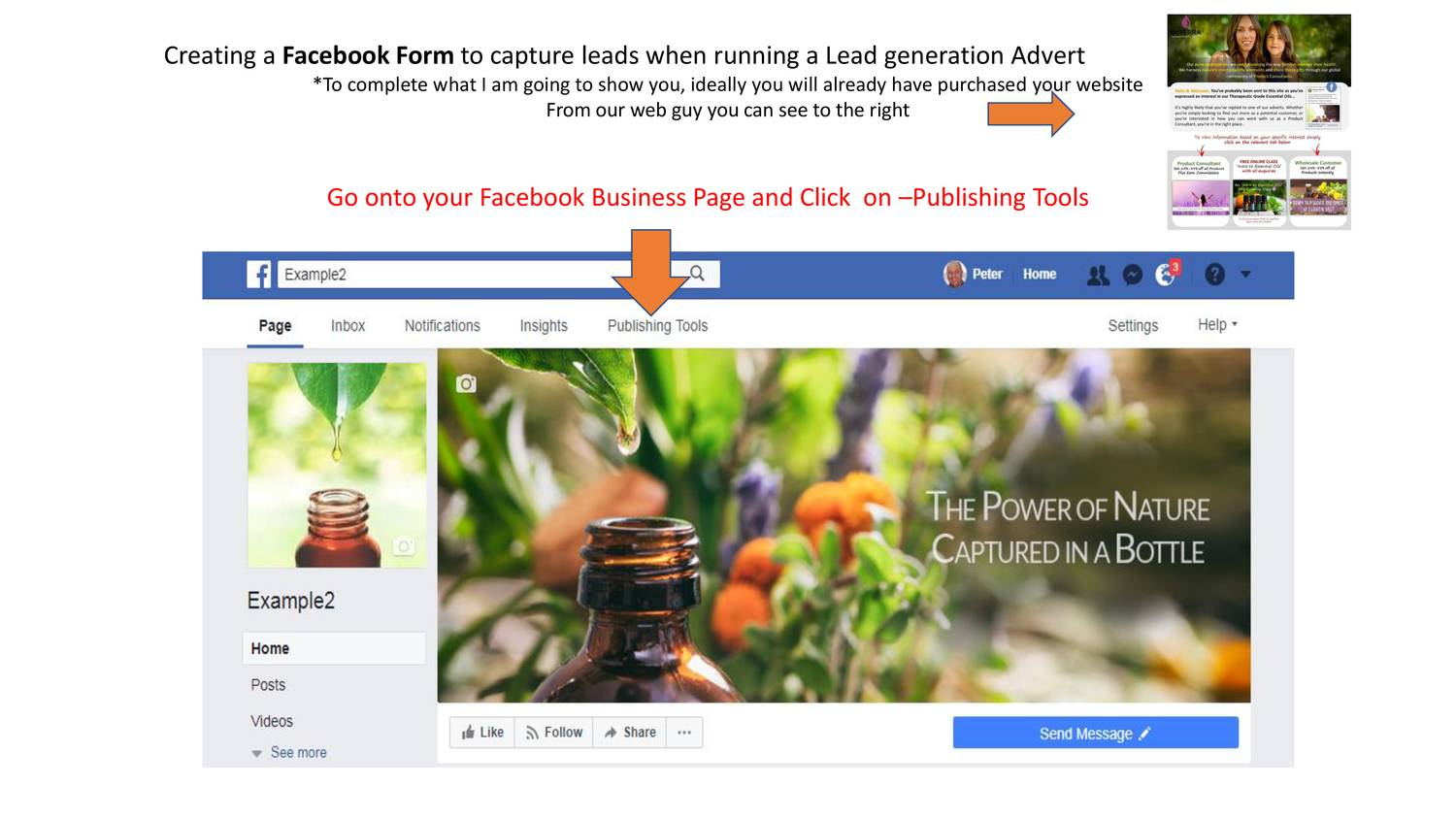Creating a Facebook Lead Form pptx | DocDroid