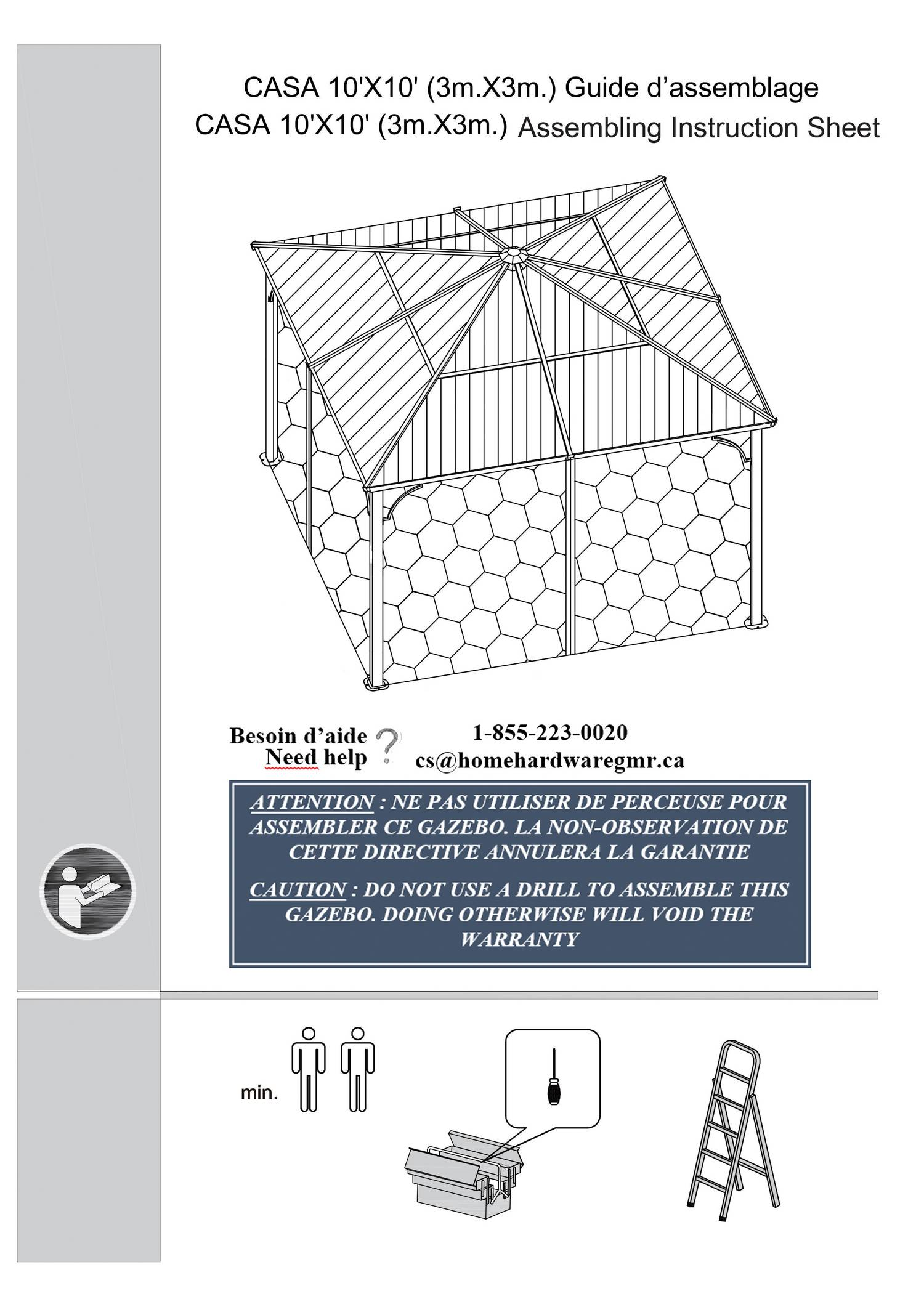 10x10 Casa Instruction Manualpdf Docdroid