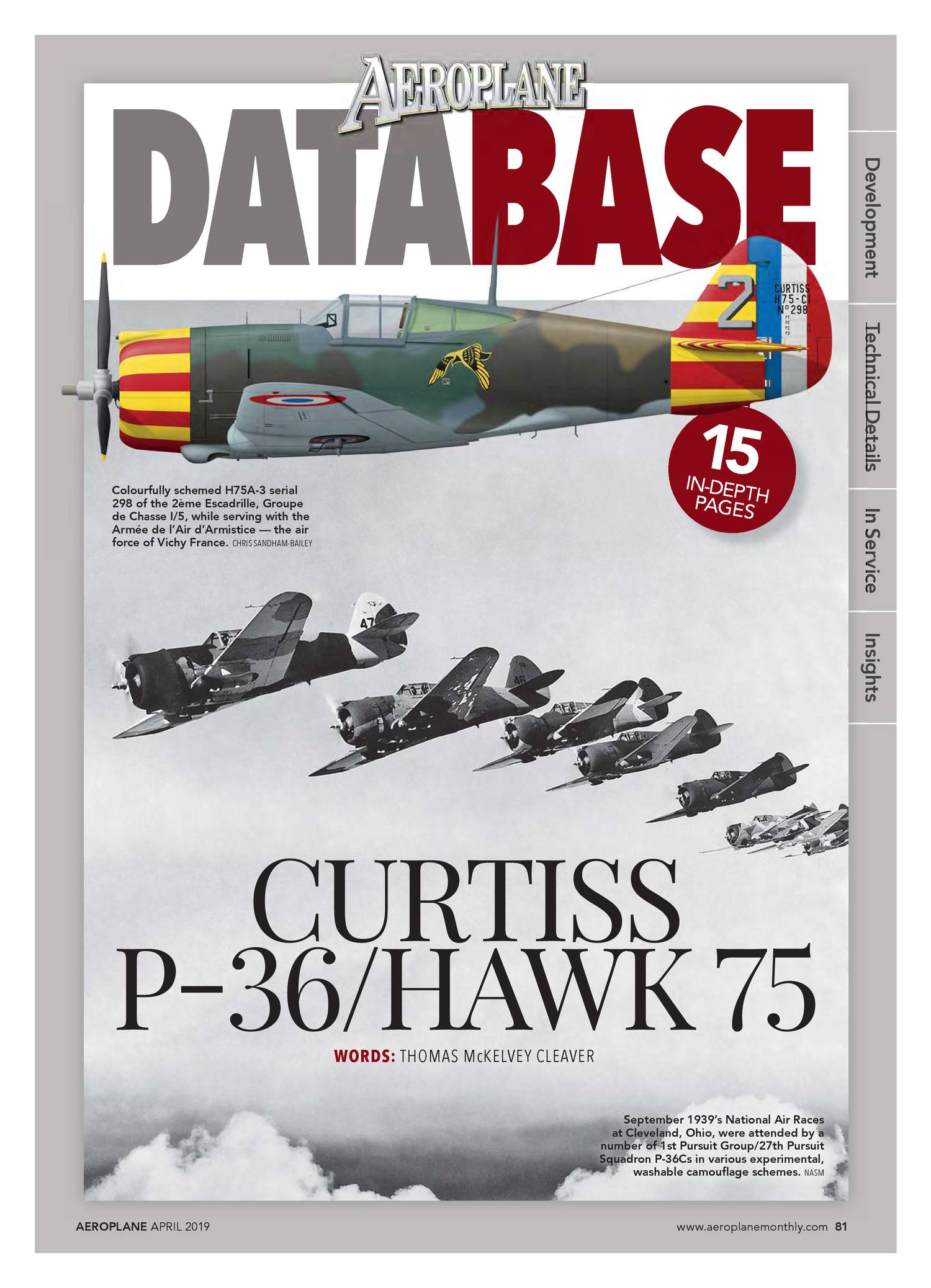 DATABASE CURTISS P-36-HAWK 75 Aeroplane_2019-04 pdf | DocDroid