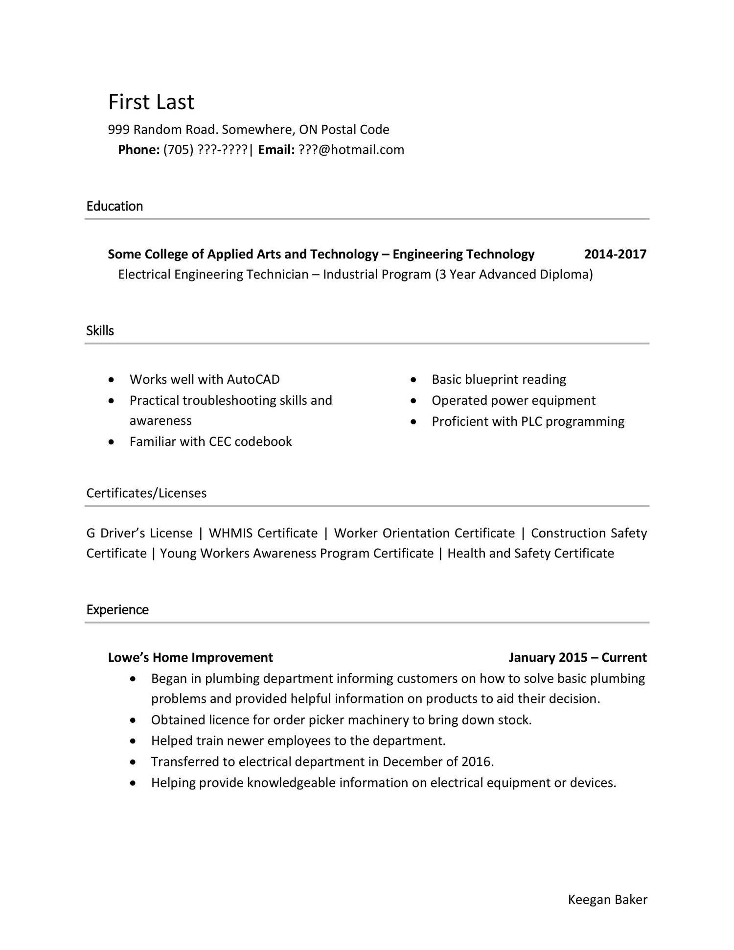 Reddit Critique Resume Docx Docdroid