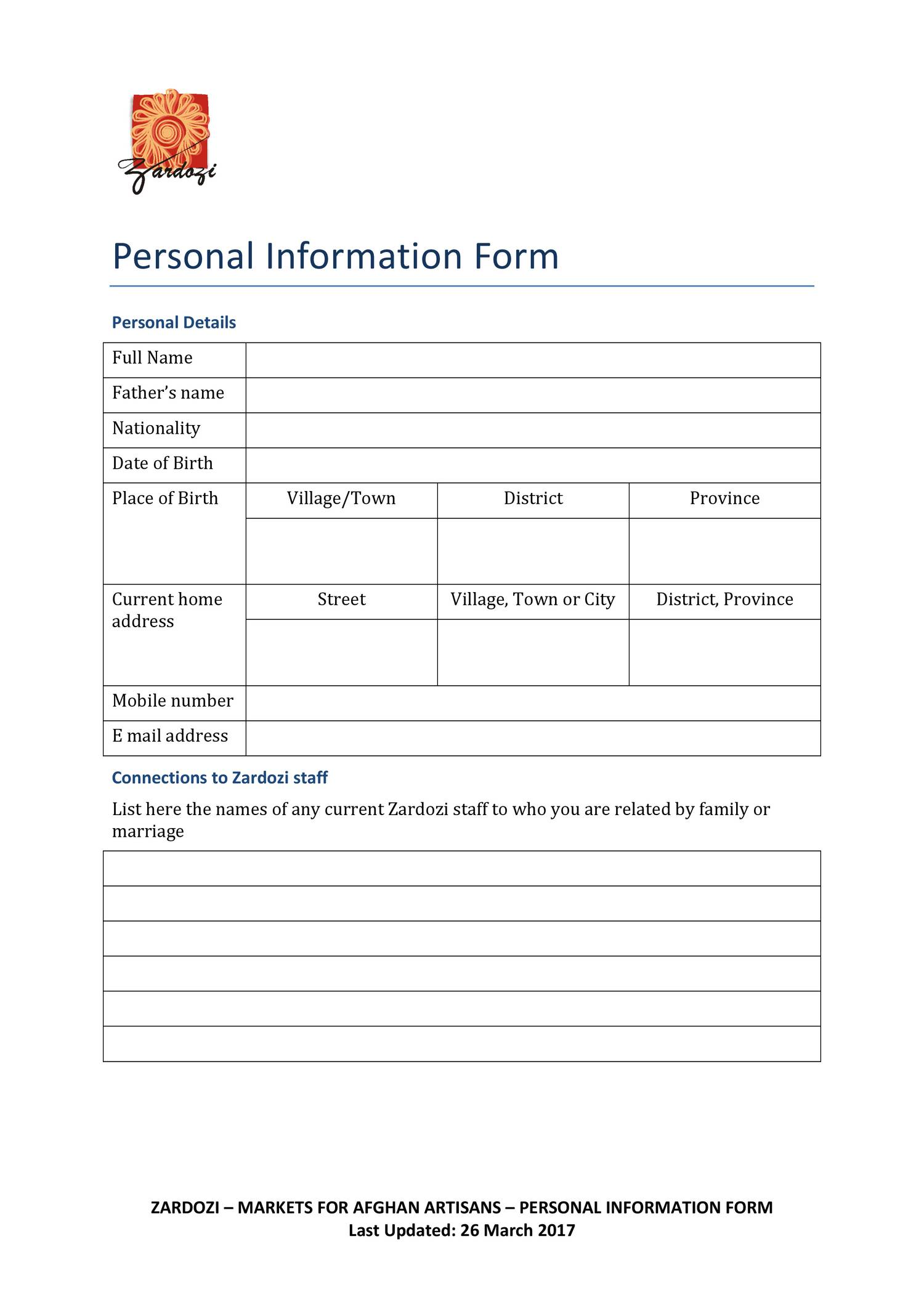 Form 4.5 Personal Information Form.pdf | DocDroid