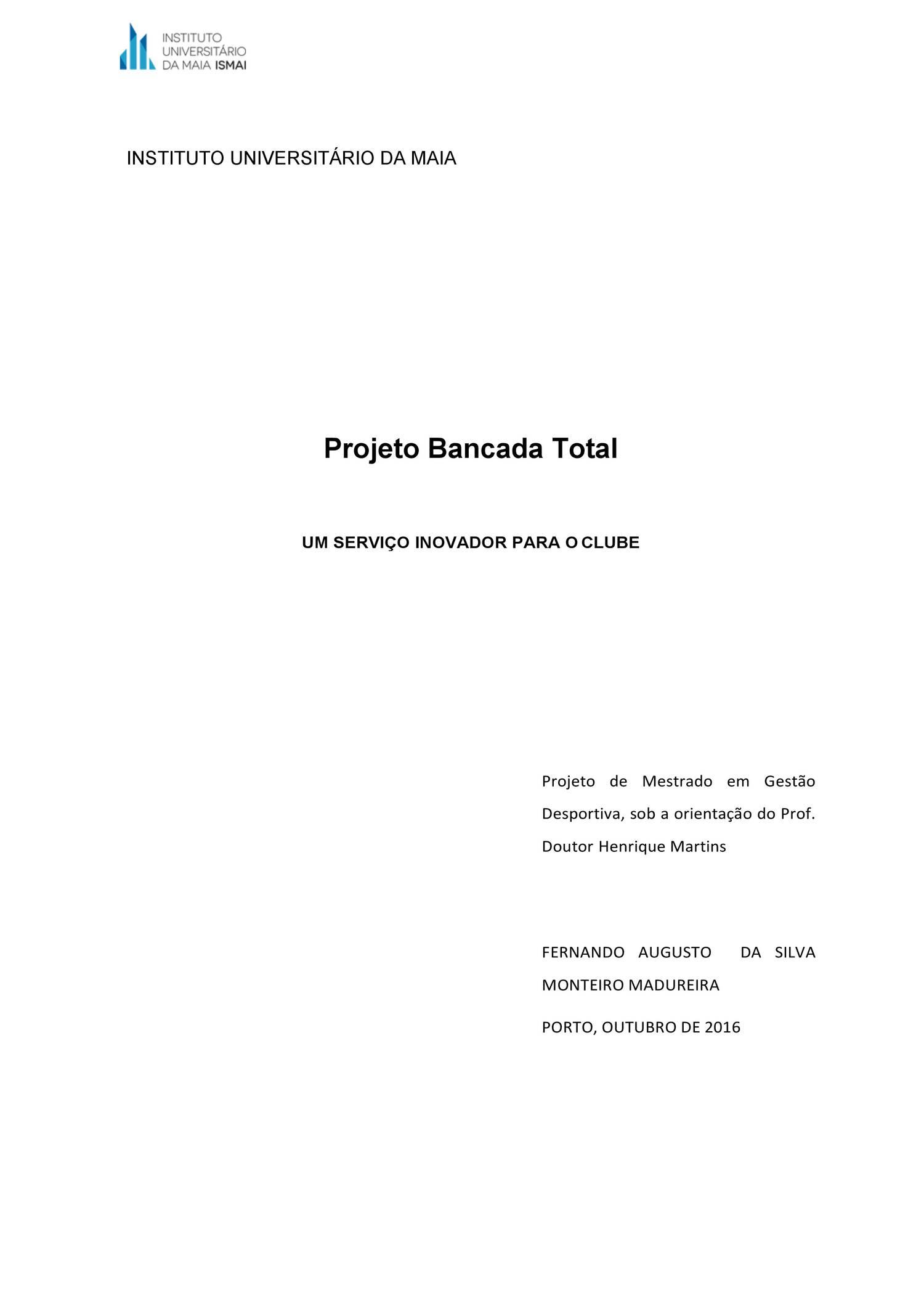 Projeto Mestrado Fernando Madureira.pdf - DocDroid