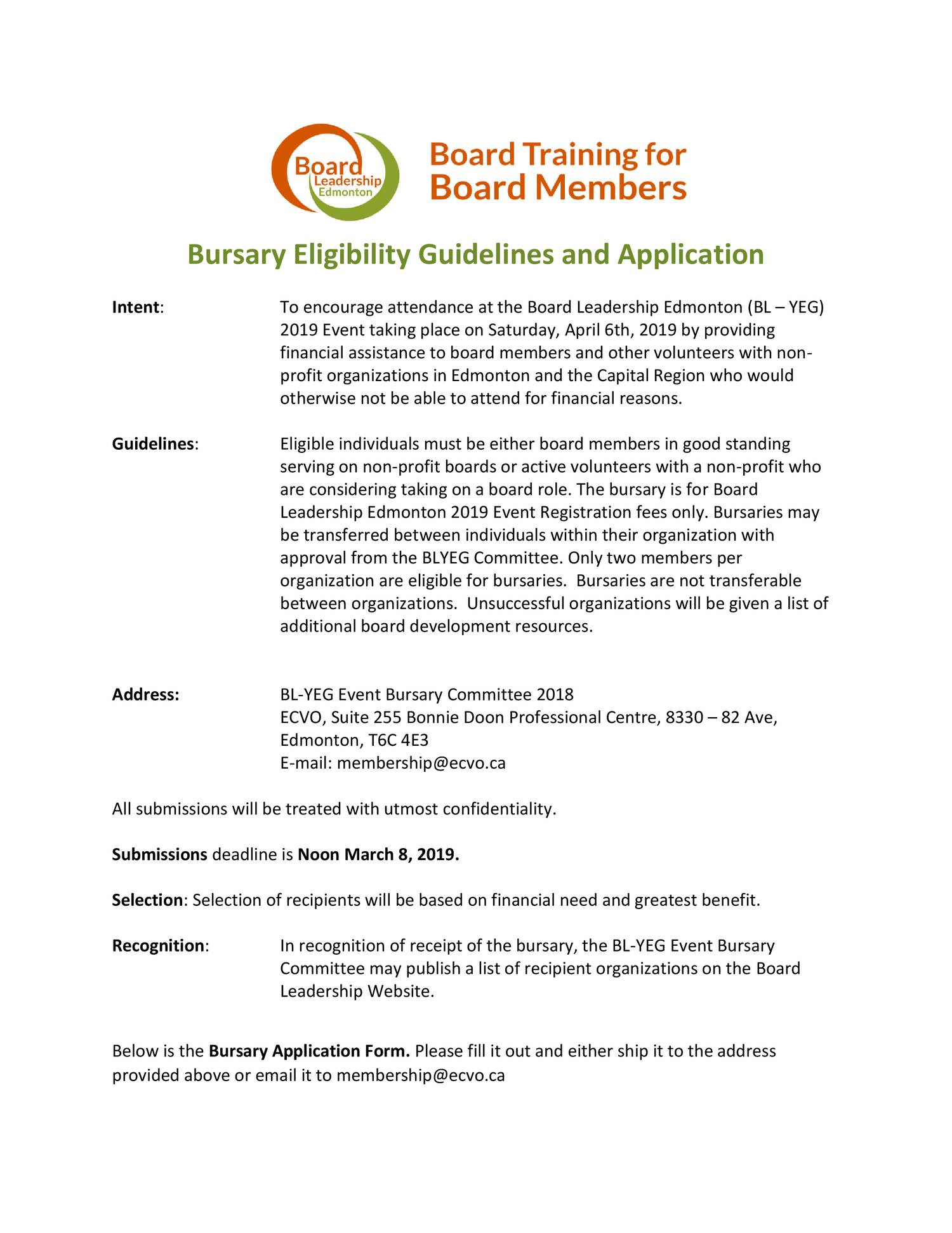 Bursary Eligibility Guidelines And Application Pdf Docdroid