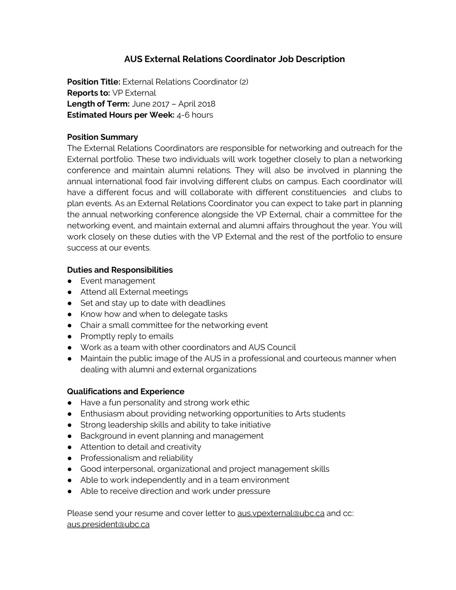 education coordinator job description top 10 education