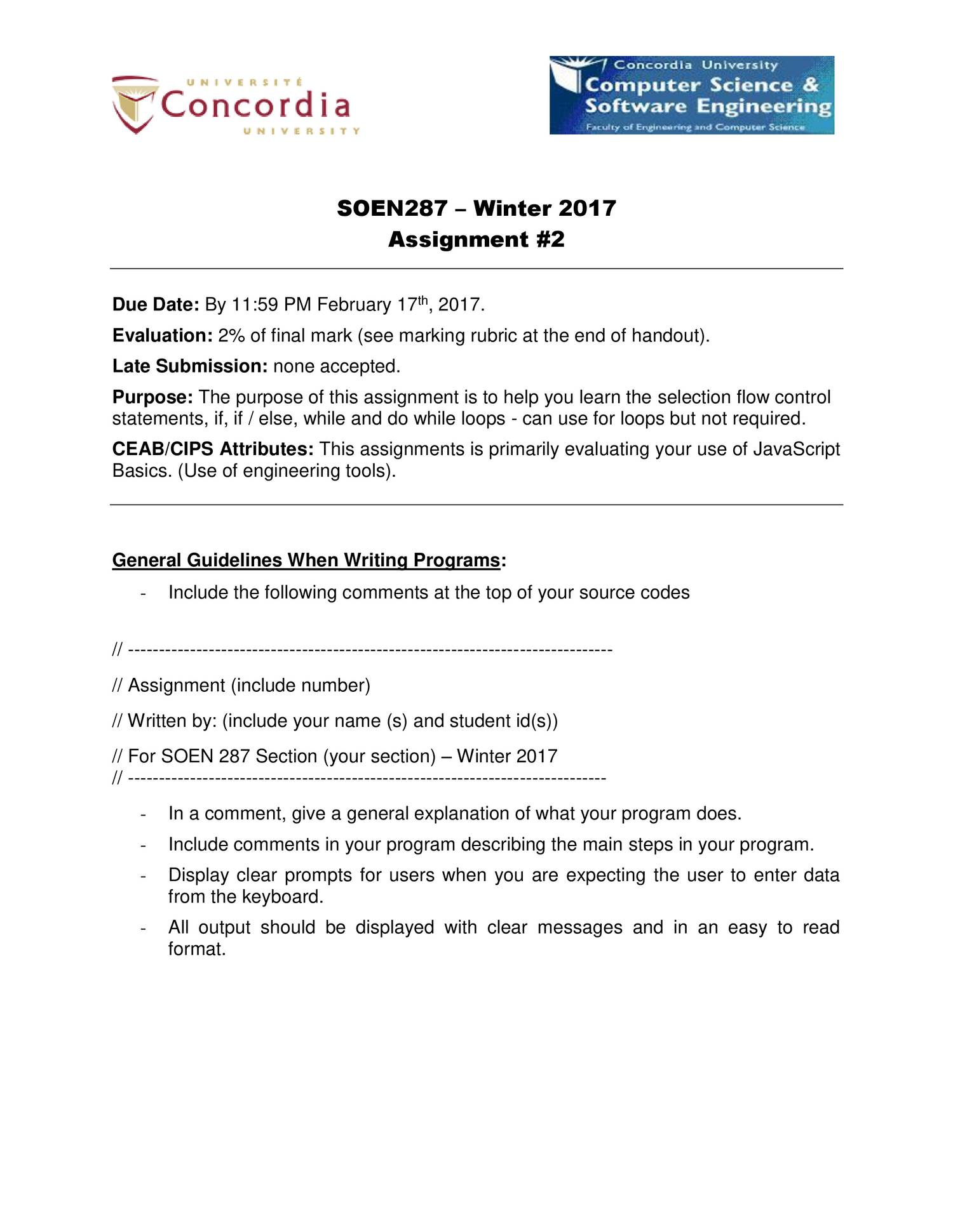 soen winter assignment pdf docdroid