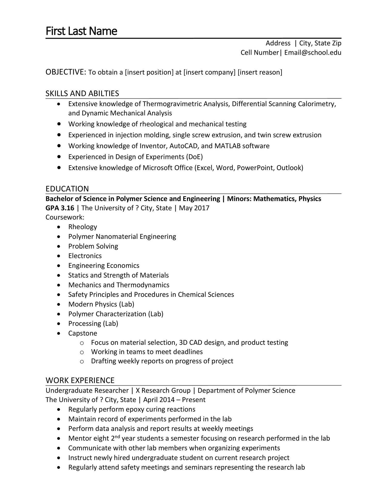 Anonymous Resume Docx Docdroid