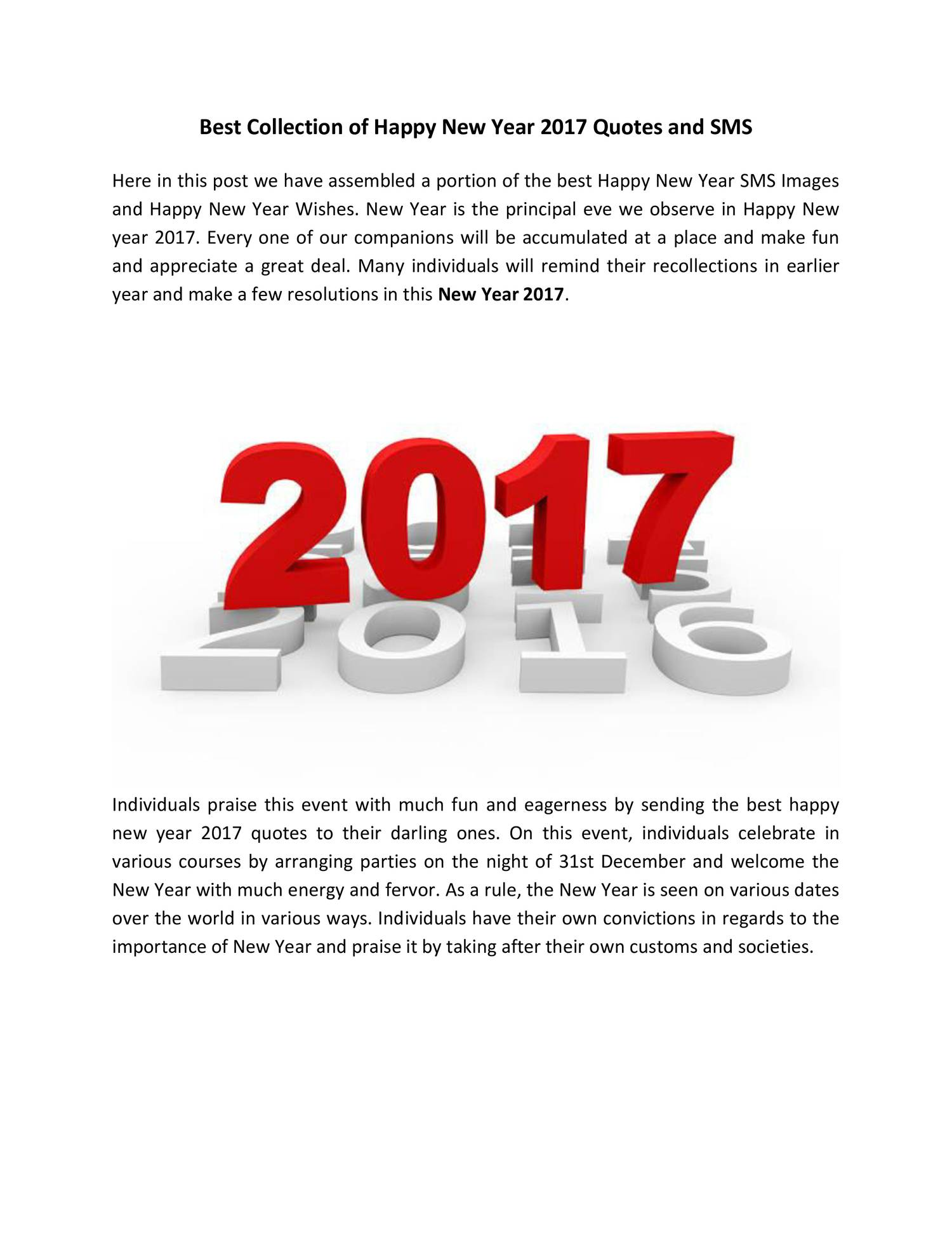 Best Collection of Happy New Year 2017 Quotes and SMS.pdf - DocDroid