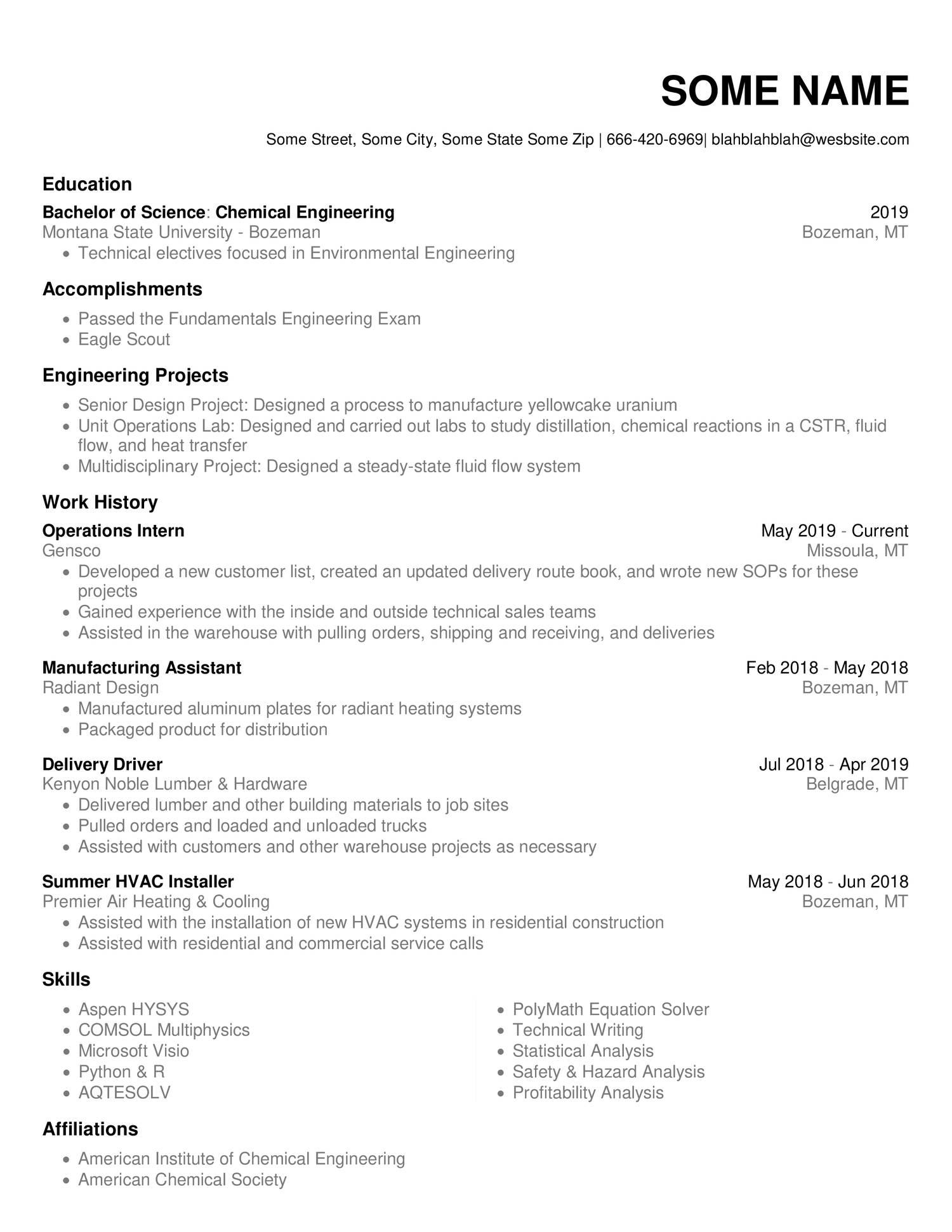 Blank Resume.pdf | DocDroid