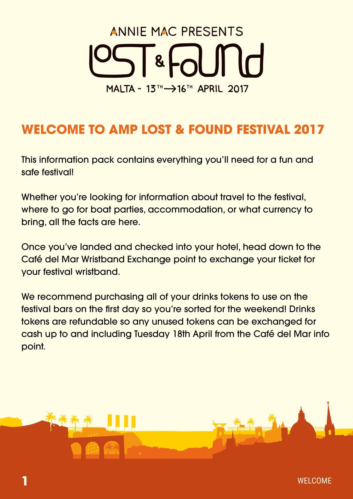 amp lost