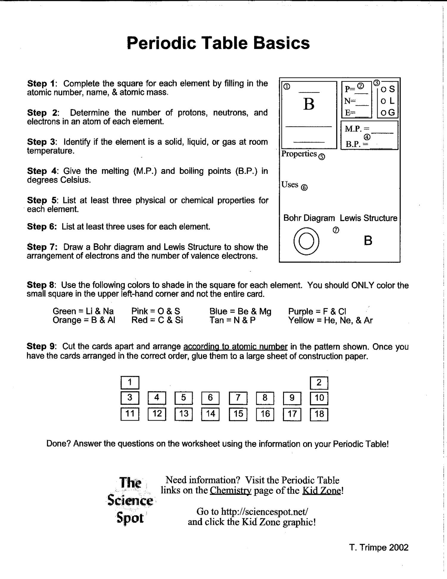 Periodic table basics worksheets and posterpdf docdroid urtaz Gallery
