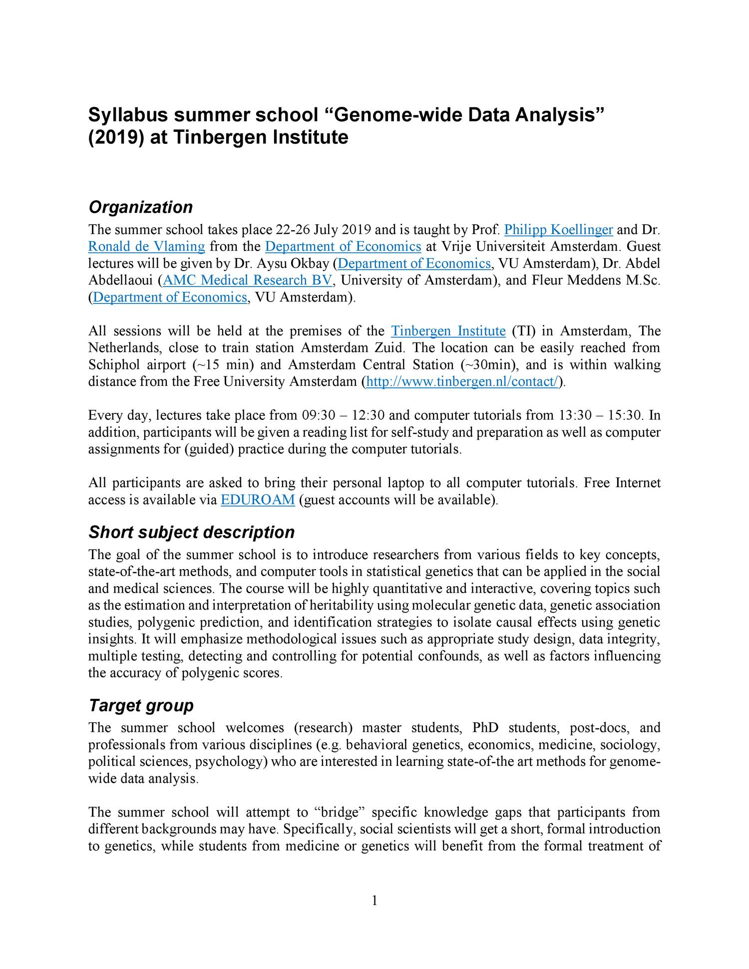 Syllabus Genome-wide Data Analysis 2019 pdf   DocDroid