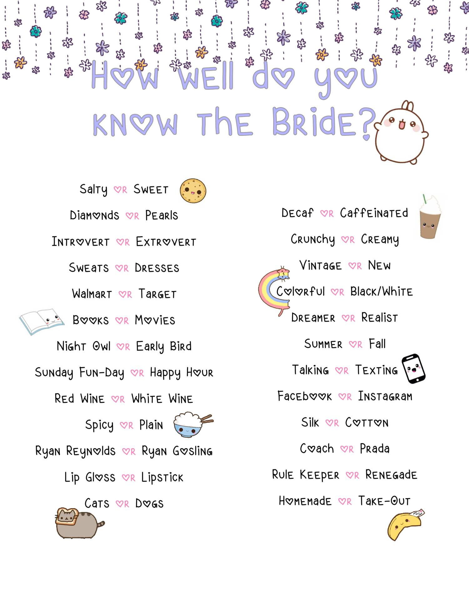 How Well Do You Know The Bride.pdf - DocDroid - photo#14