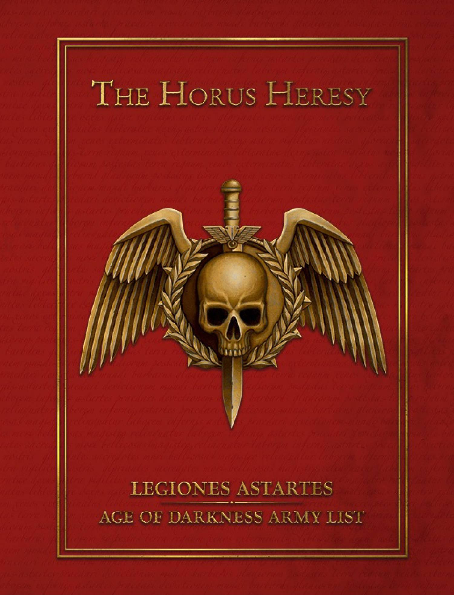 Legiones Astartes Age of Darkness Army List pdf | DocDroid