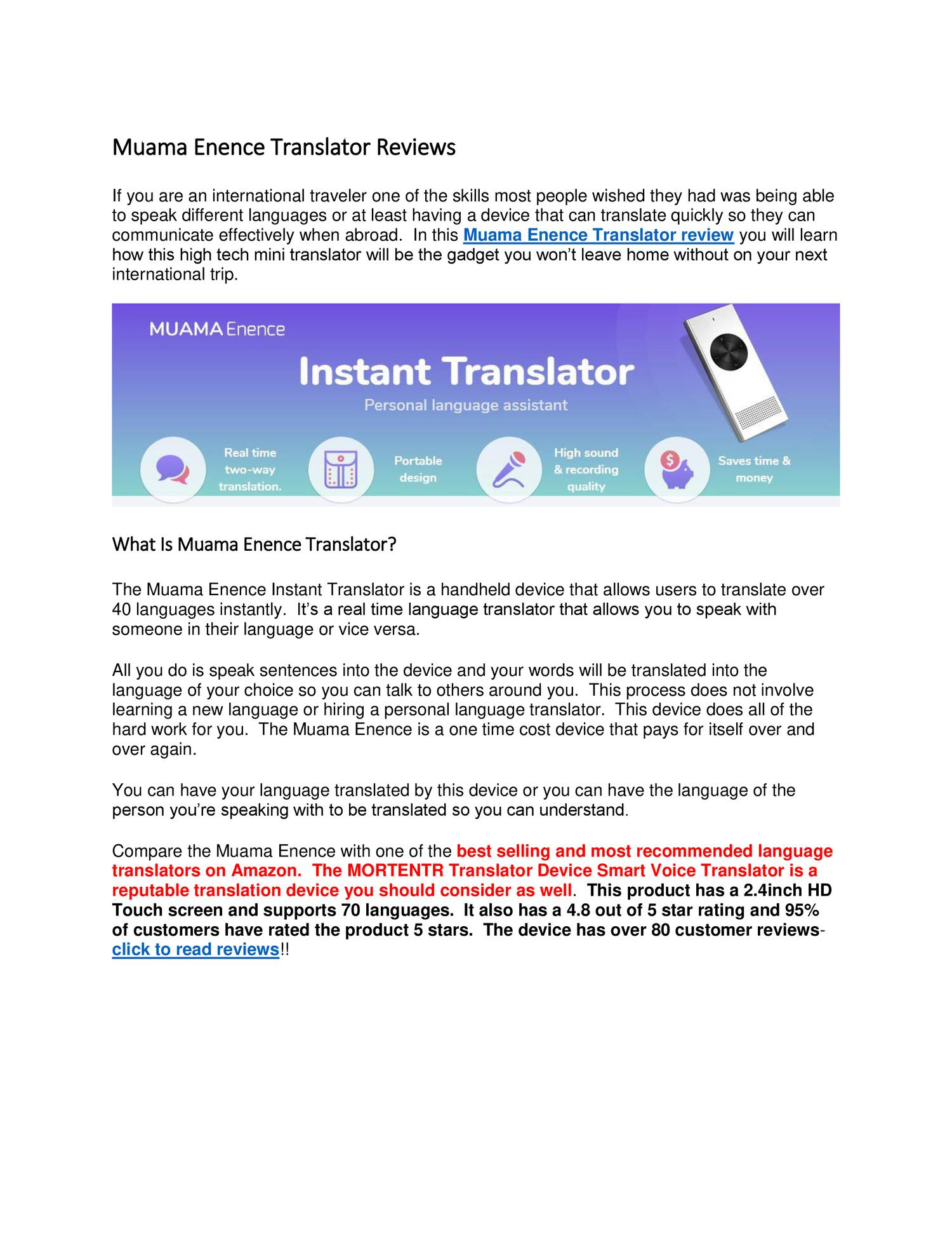 Muama Enence Translator Reviews docx   DocDroid