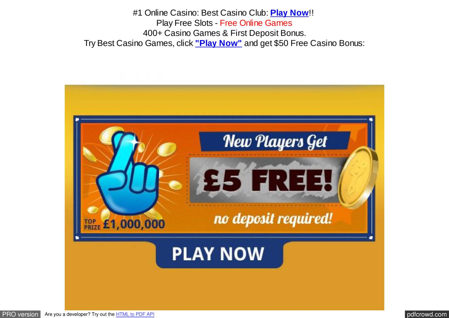 Online casinos free signup bonus bossier casino city horseshoe in la