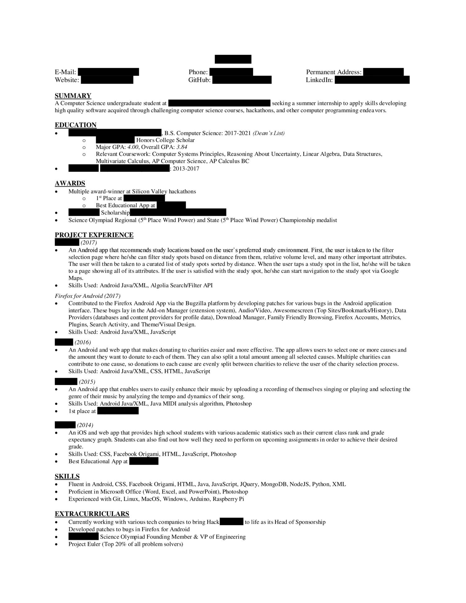 Anonymized Resume.pdf - DocDroid