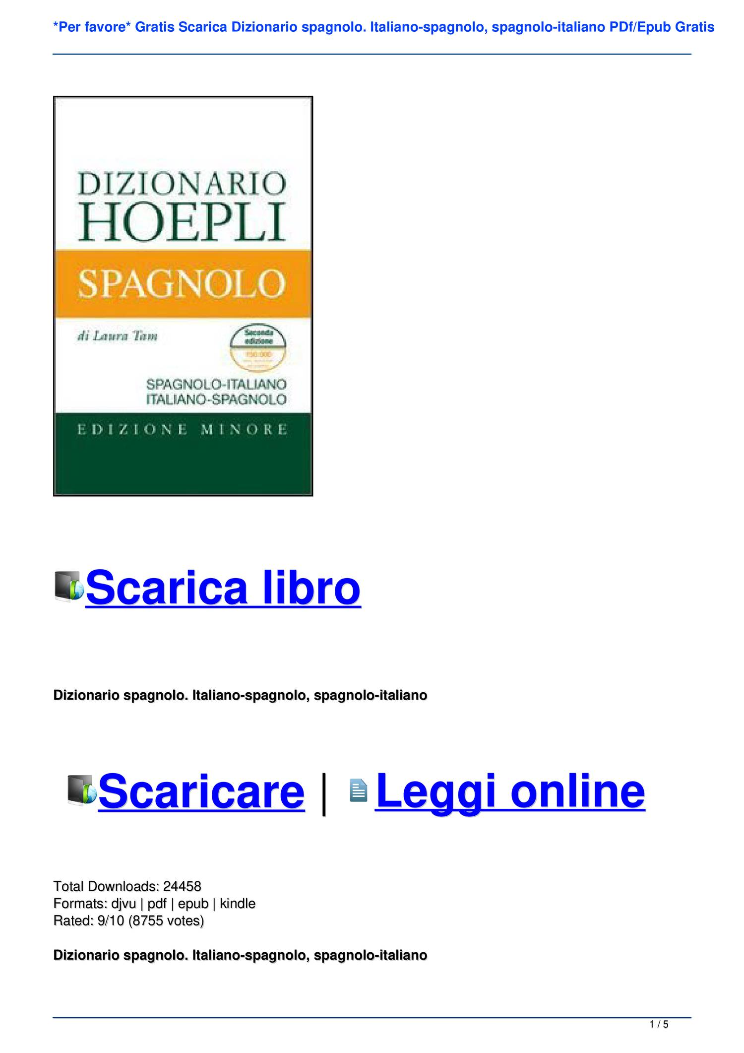 download epub gratis in italiano