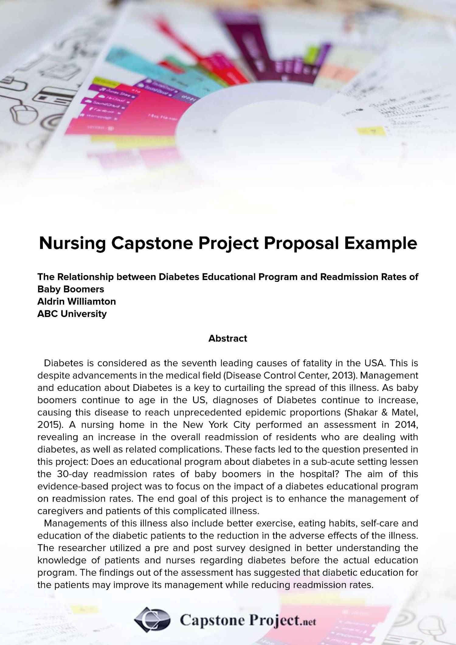Nursing Capstone Project Proposal Examplepdf Docdroid