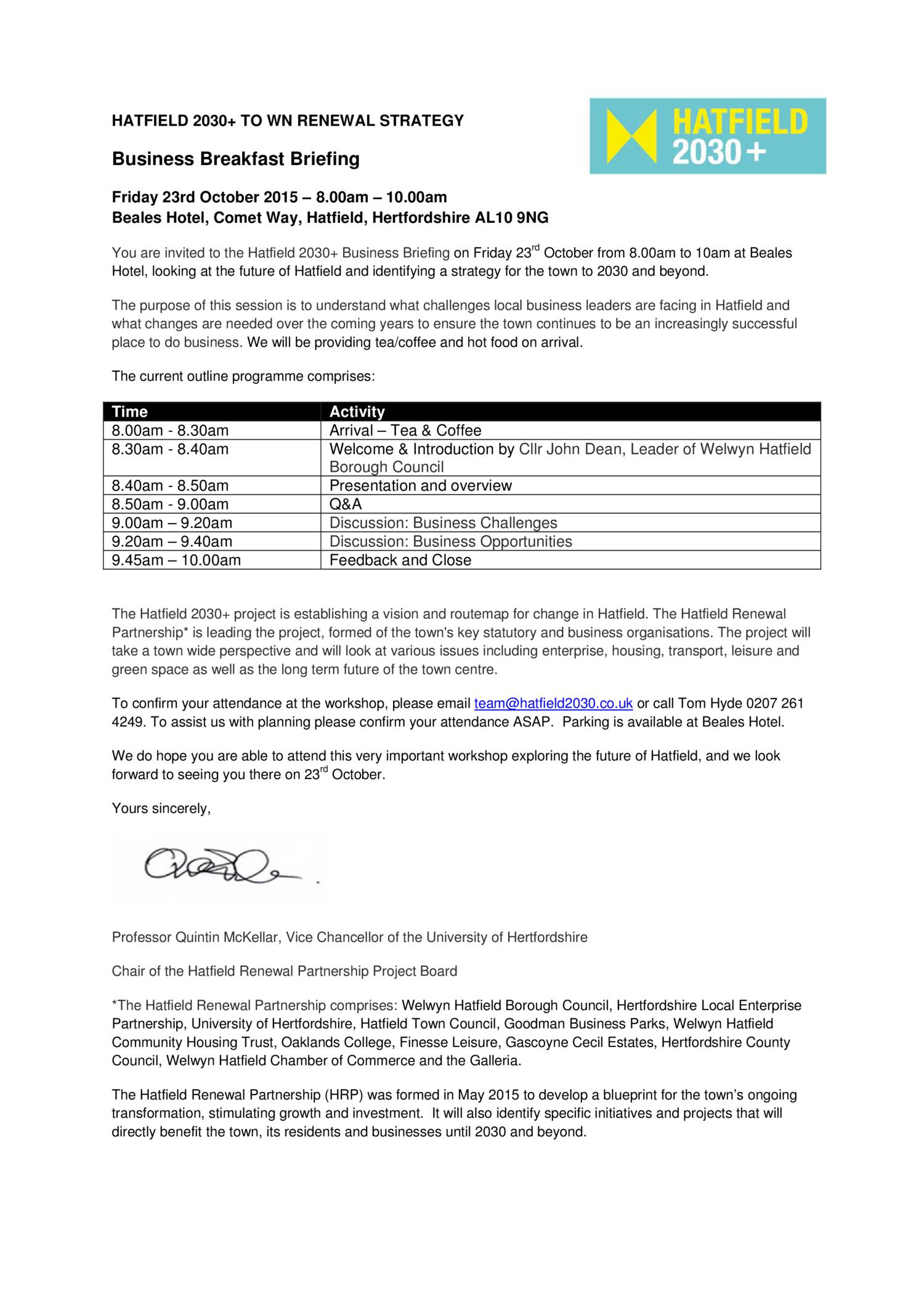 Business breakfast invitation letterpdf docdroid stopboris Gallery