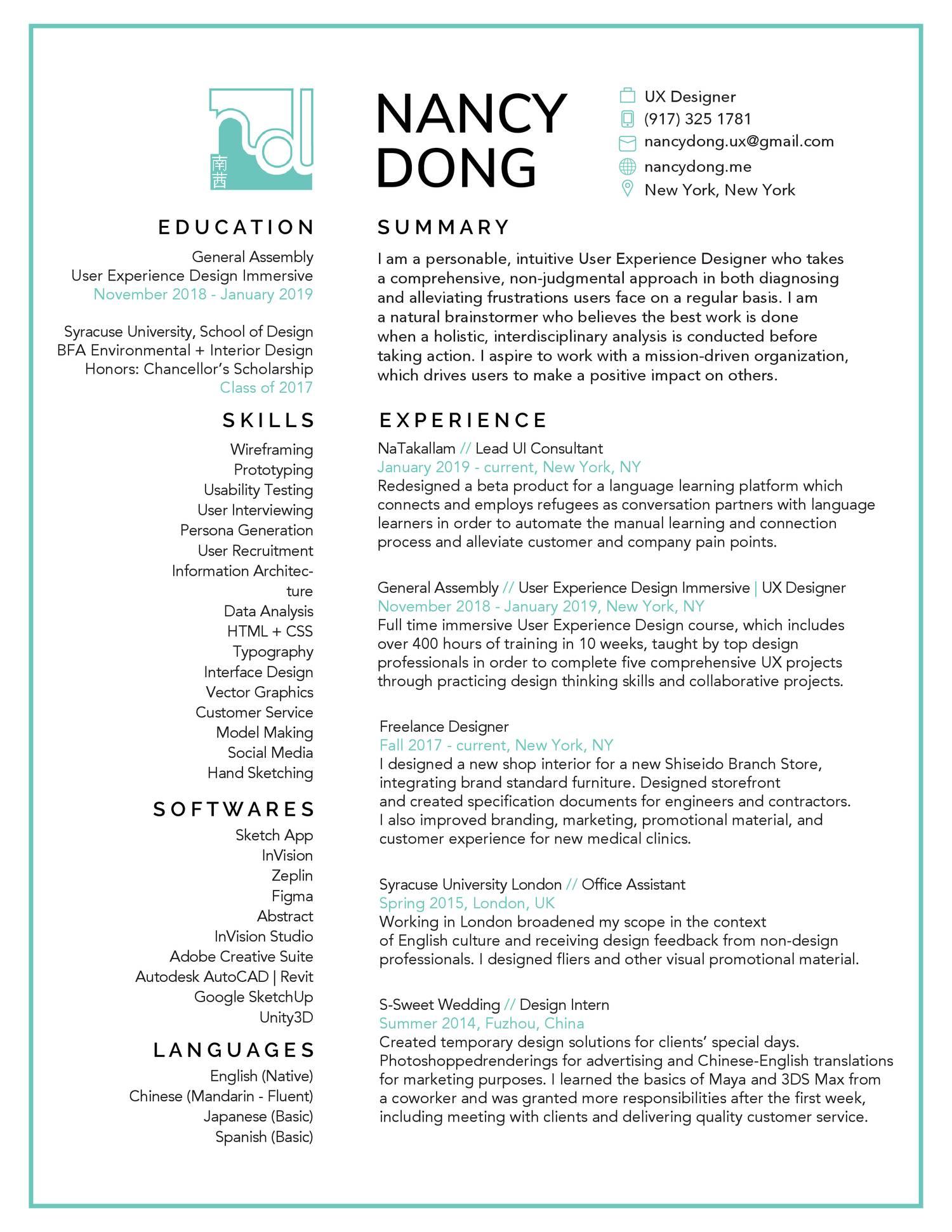 nancydong-resume-2 pdf   DocDroid