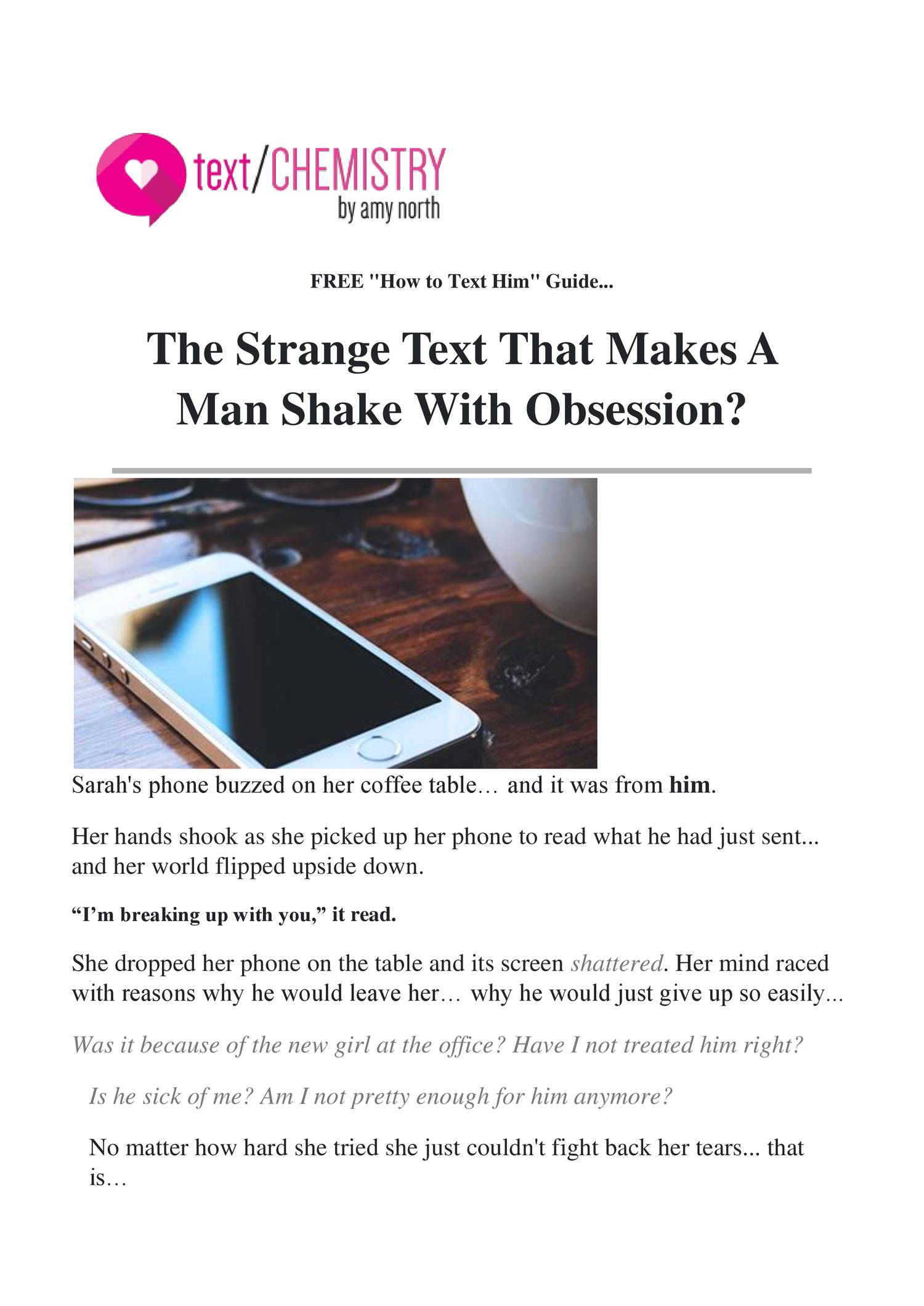 Text Chemistry | Texts That Get Guy's Attention pdf | DocDroid