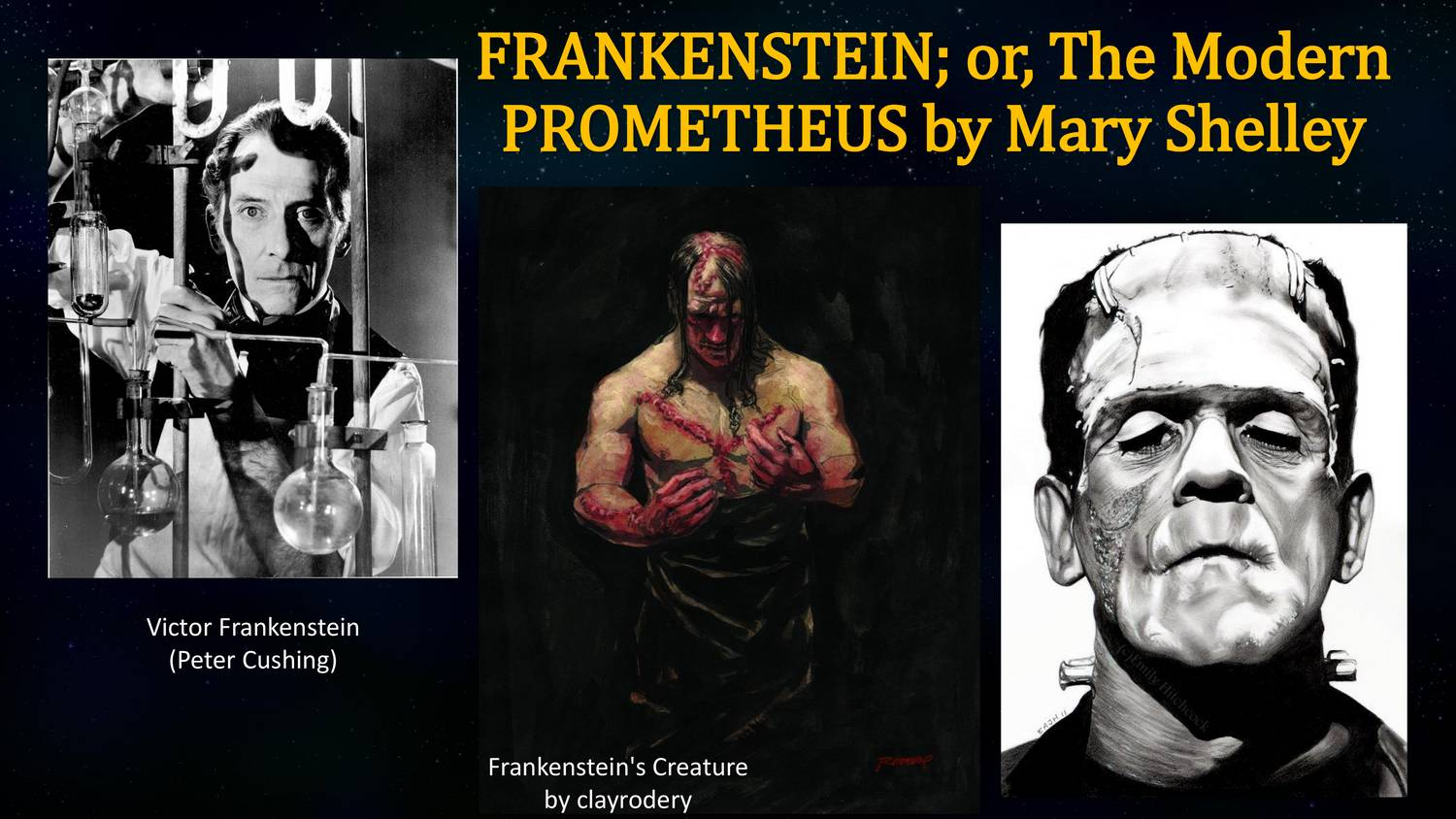 a comparison of prometheus and victor frankenstein from frankenstein by mary shelley