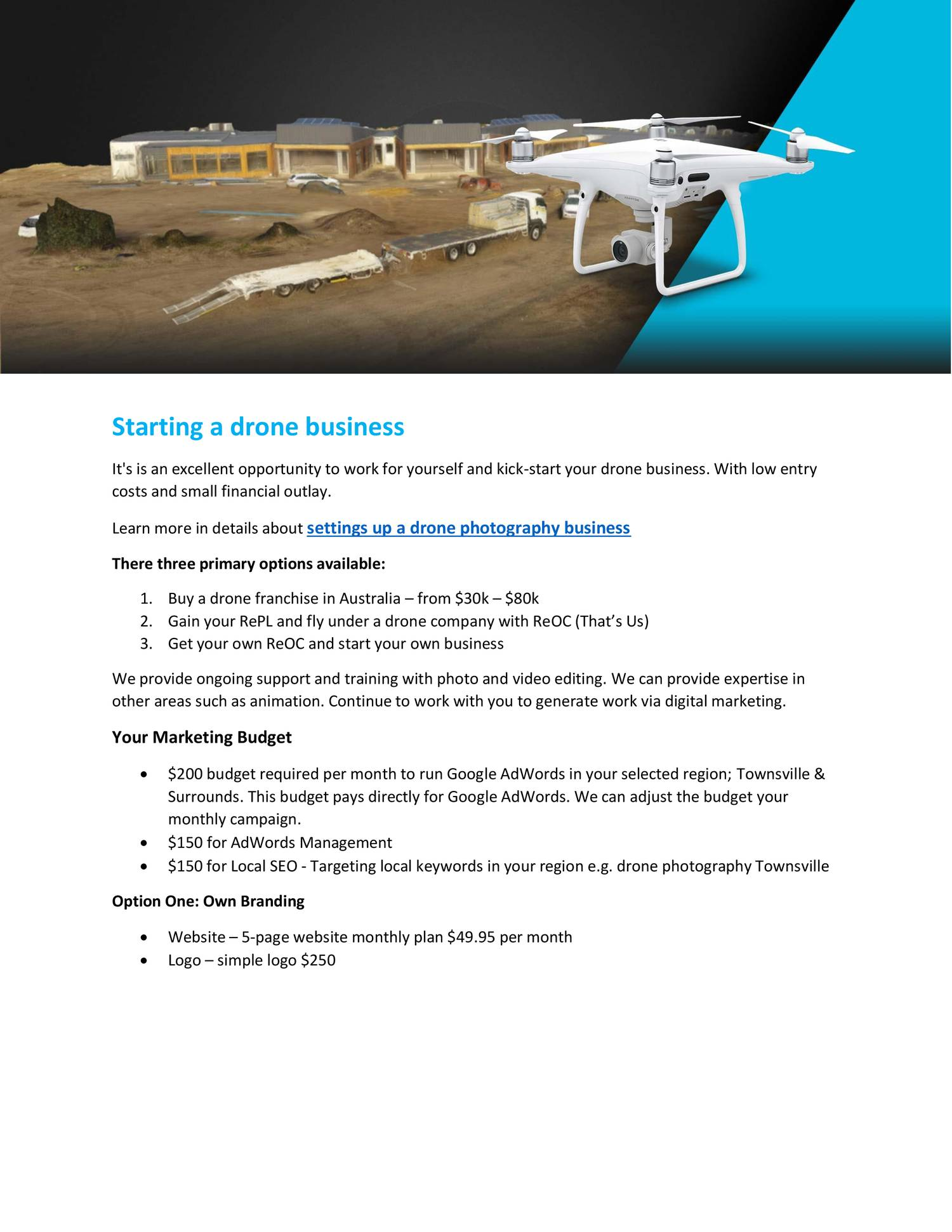 Setting Up a Drone Photography Business pdf | DocDroid