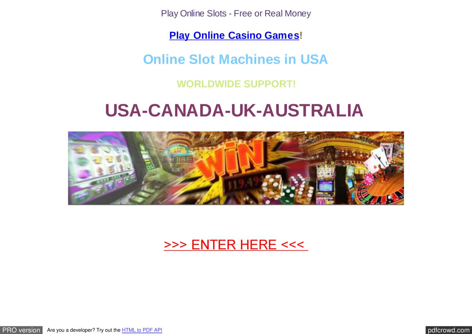 Free Slots | Spinit