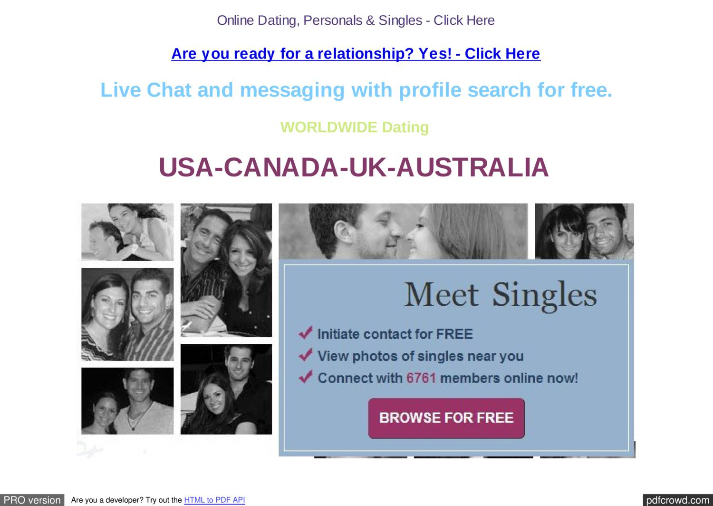 Online Dating chattrum ingen registrering