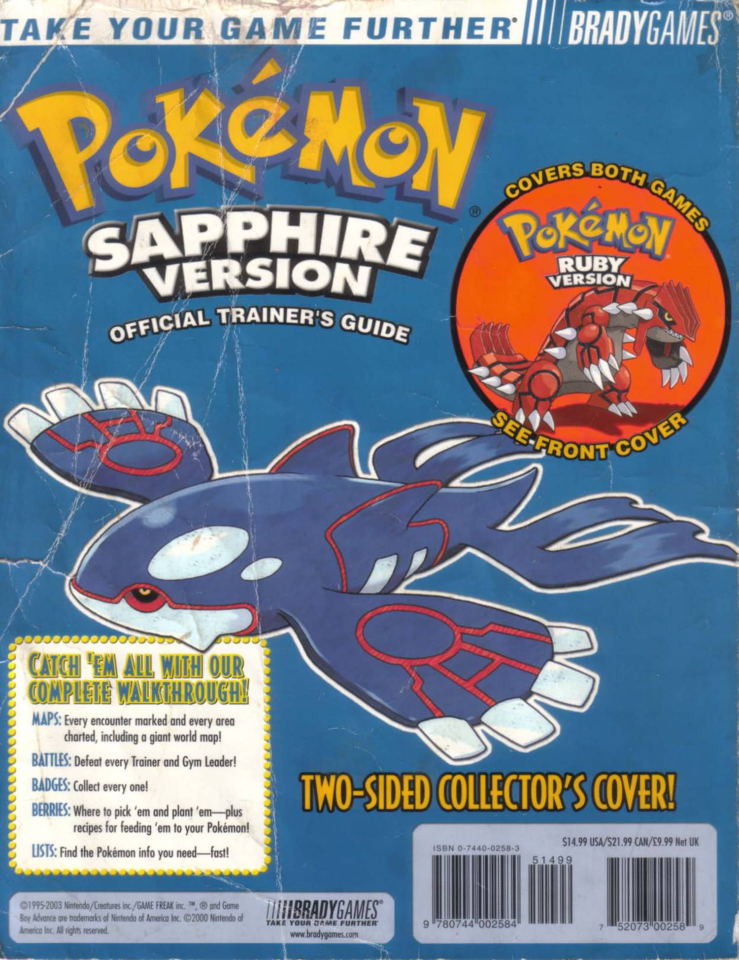 Brady 2003) - Pokemon Sapphire & Ruby pdf | DocDroid