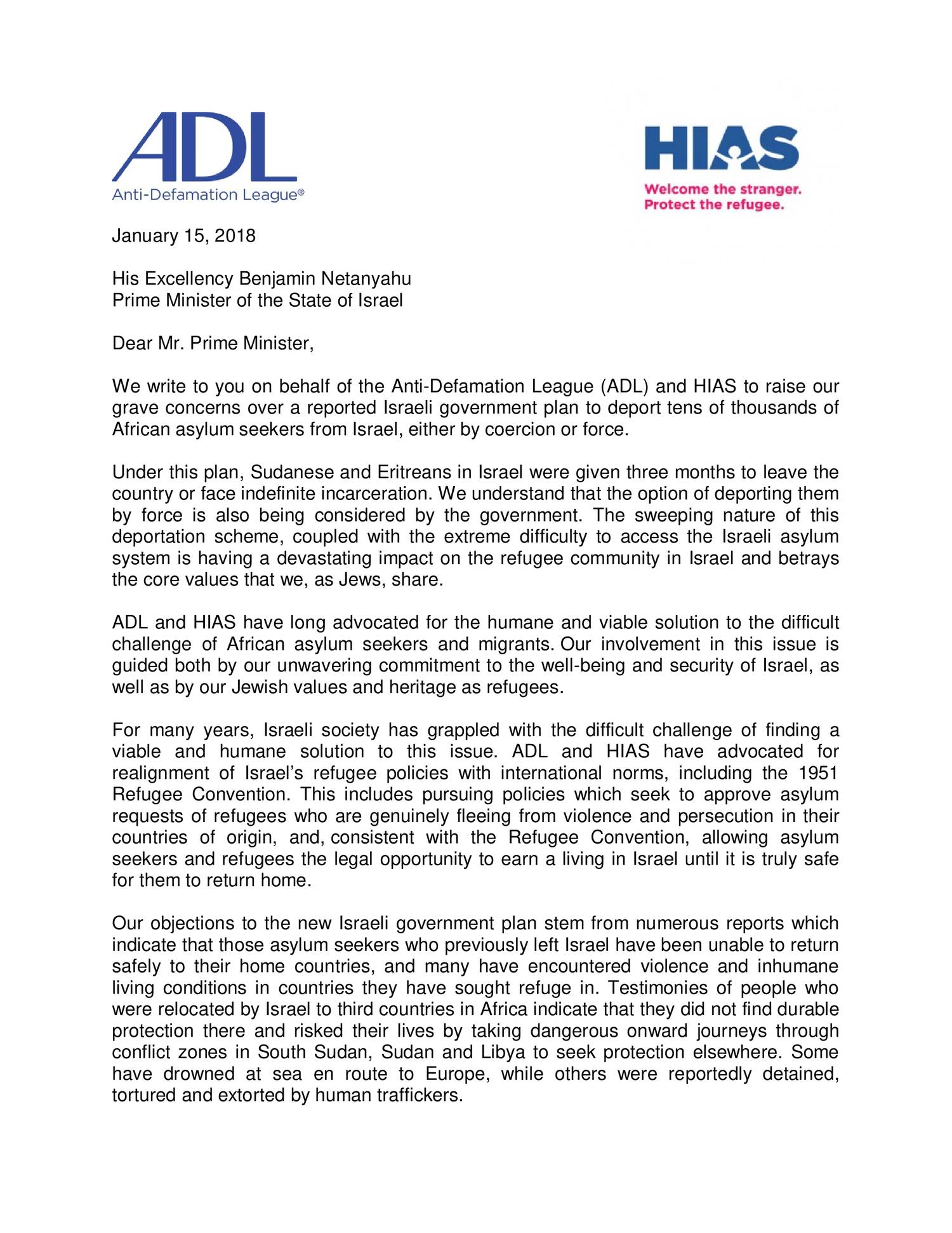 Adl and hias letter on asylum seekerspdf docdroid altavistaventures Image collections
