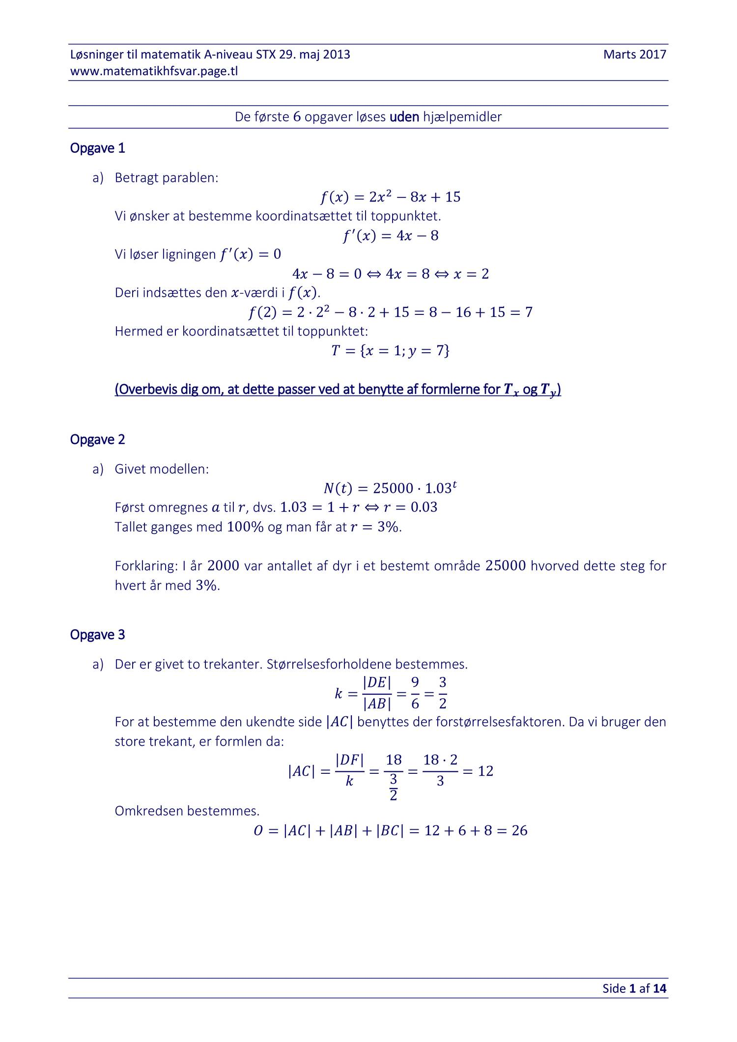 stx matematik a maj 2013