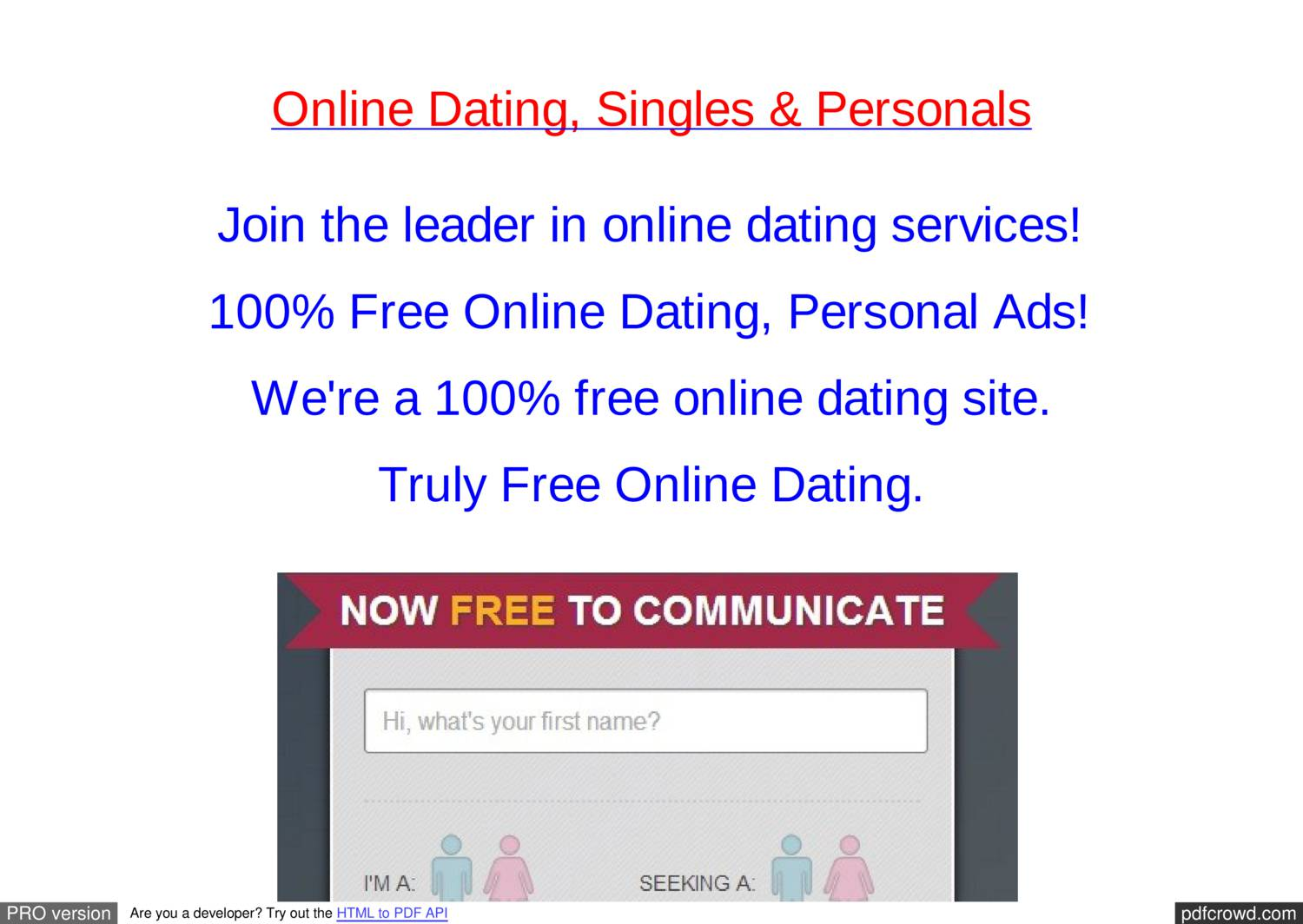 All online country dating