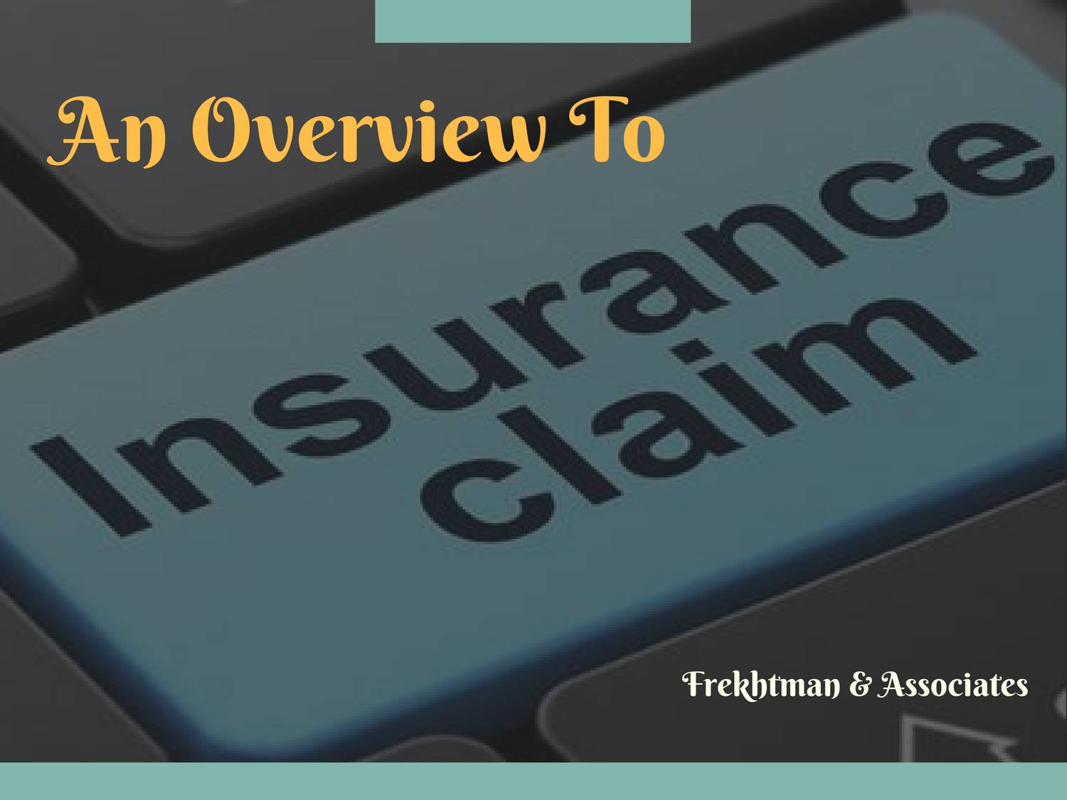 Insurance Overview Pdf