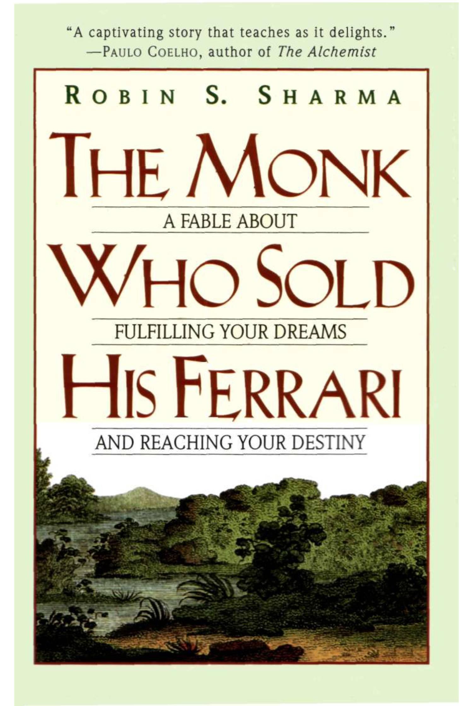 Ebook The Monk Who Sold His Ferrari Robin S Sharma Pdf
