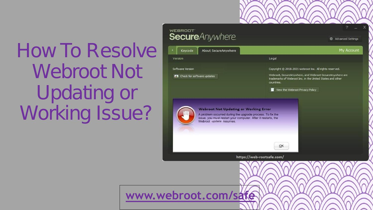 Webroot not updating rules in dating