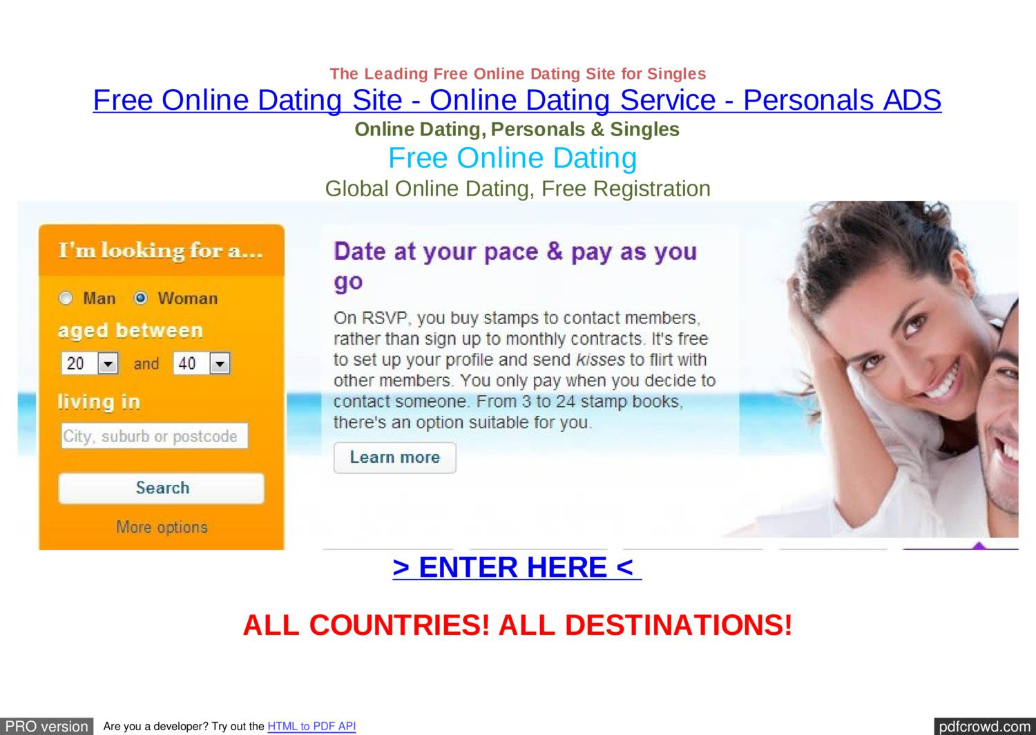 free online personals in conger See experts' picks for the 10 best dating sites of 2018 compare online dating reviews, stats, free trials, and more (as seen on cnn and foxnews.