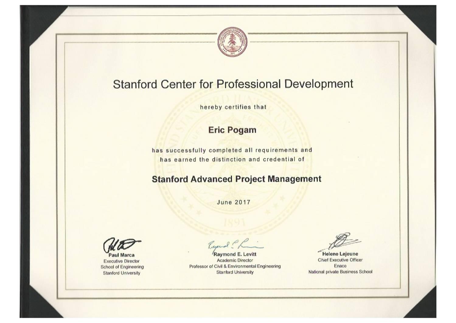 Stanford Project Managementpdf Docdroid