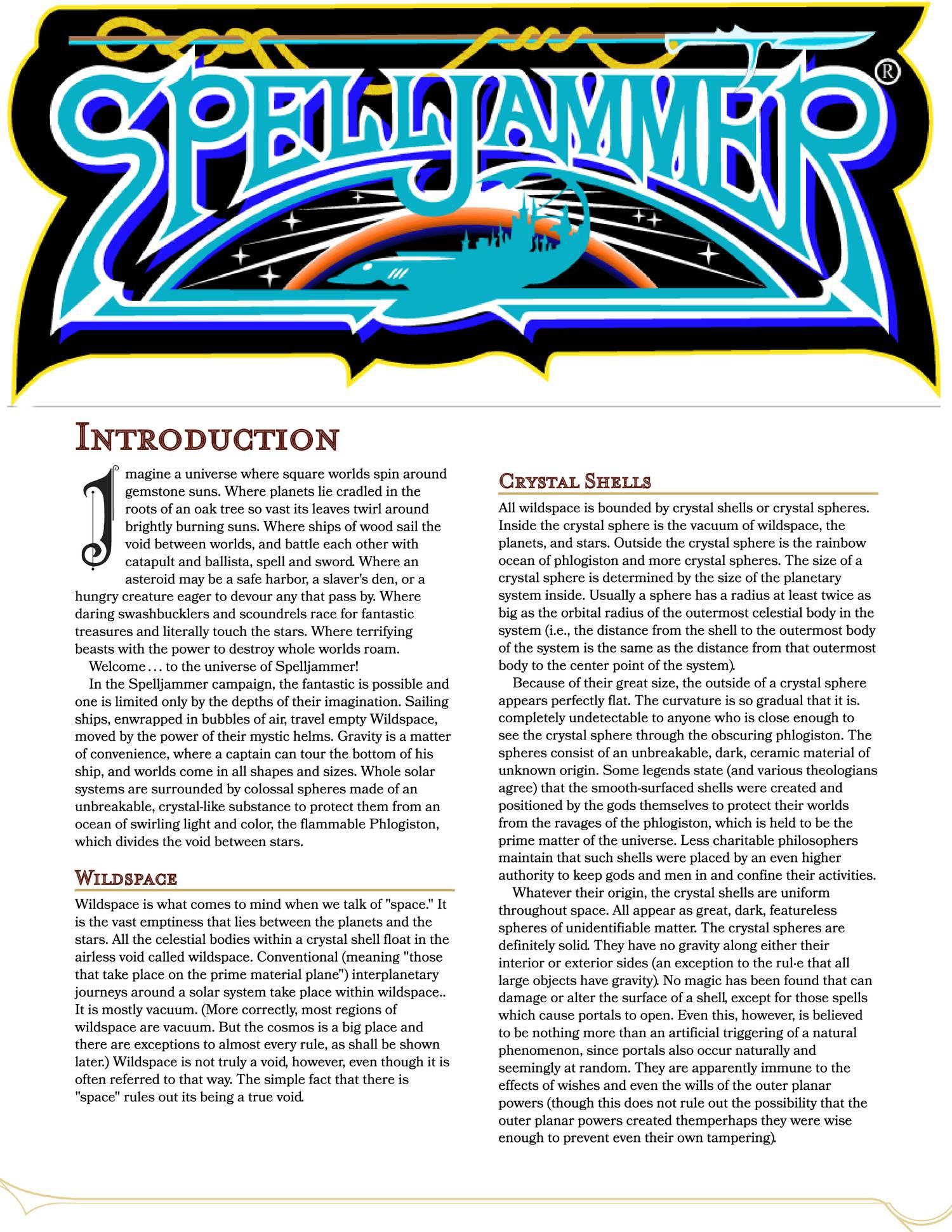 Spelljammer 5e pdf | DocDroid