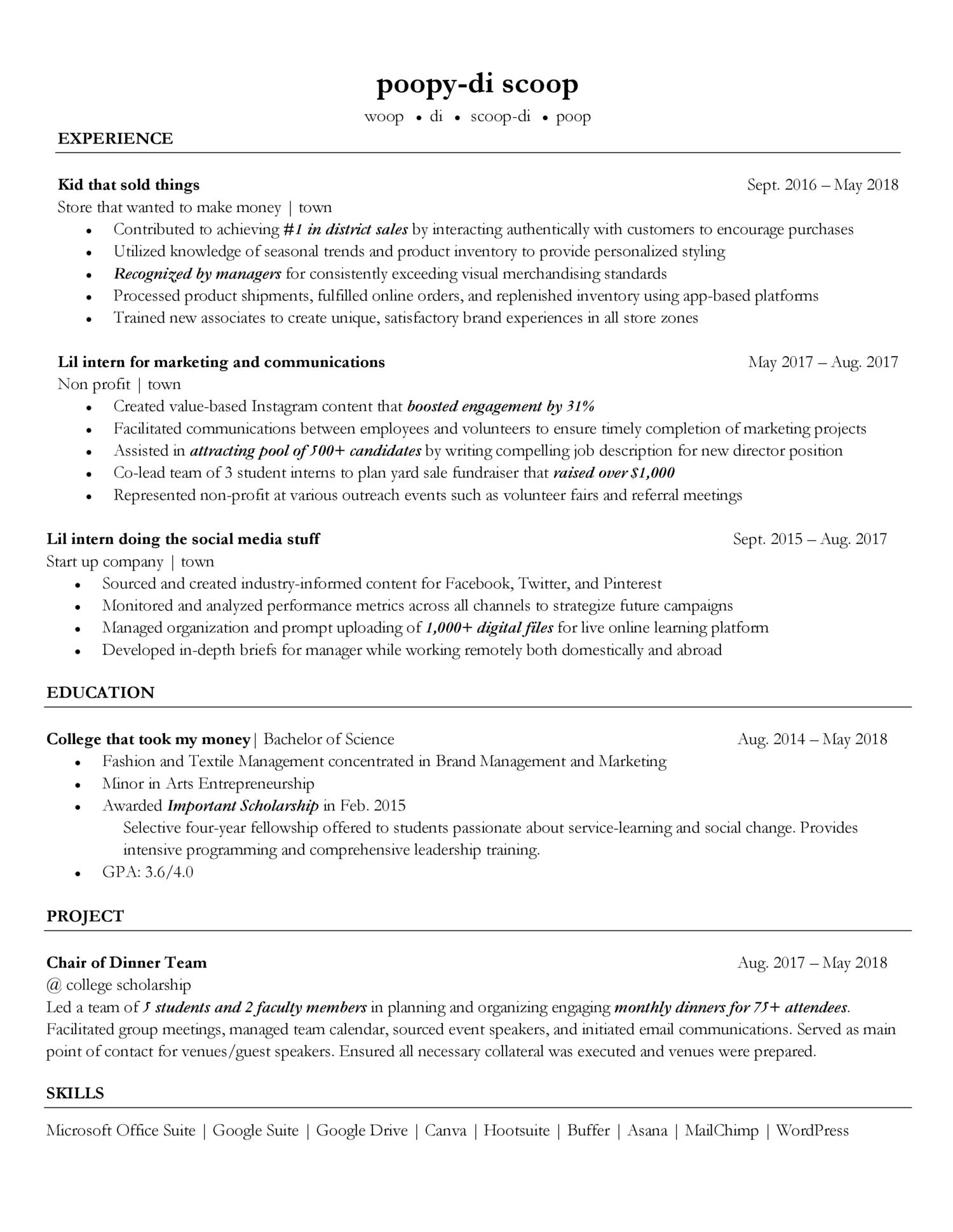 resume for reddit pdf