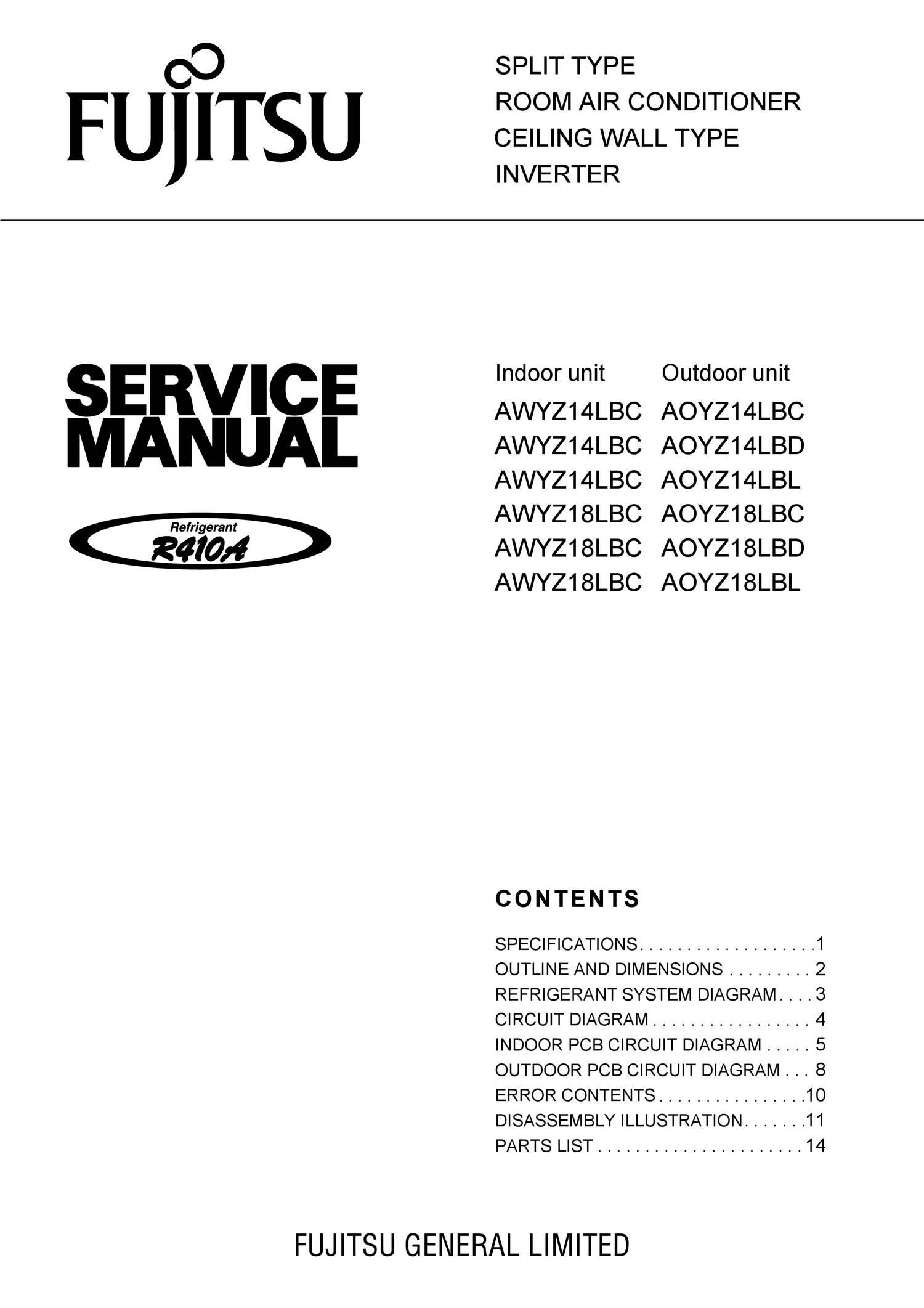 Service Manual Fujitsu Nocria Awyz 14 18 Lbcpdf Docdroid Pcb Circuit Diagram