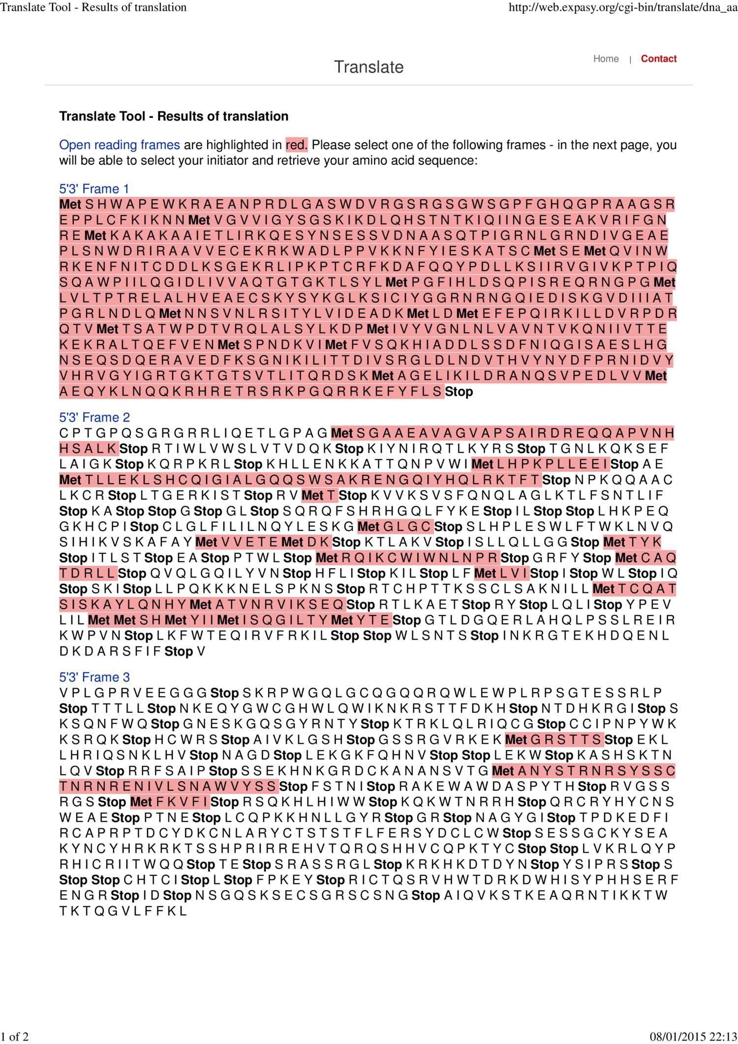 Contig 3 DDX53 Translate Tool - Results of translation pdf   DocDroid