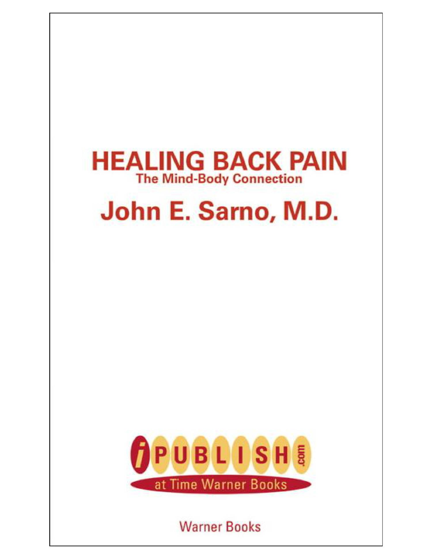 healing-back-pain-the-mind pdf pdf | DocDroid