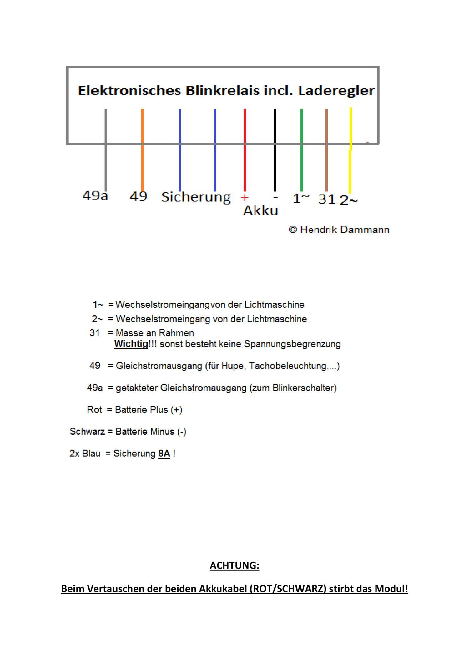 Atemberaubend Lichtmaschinenanschlussplan Fotos - Der Schaltplan ...