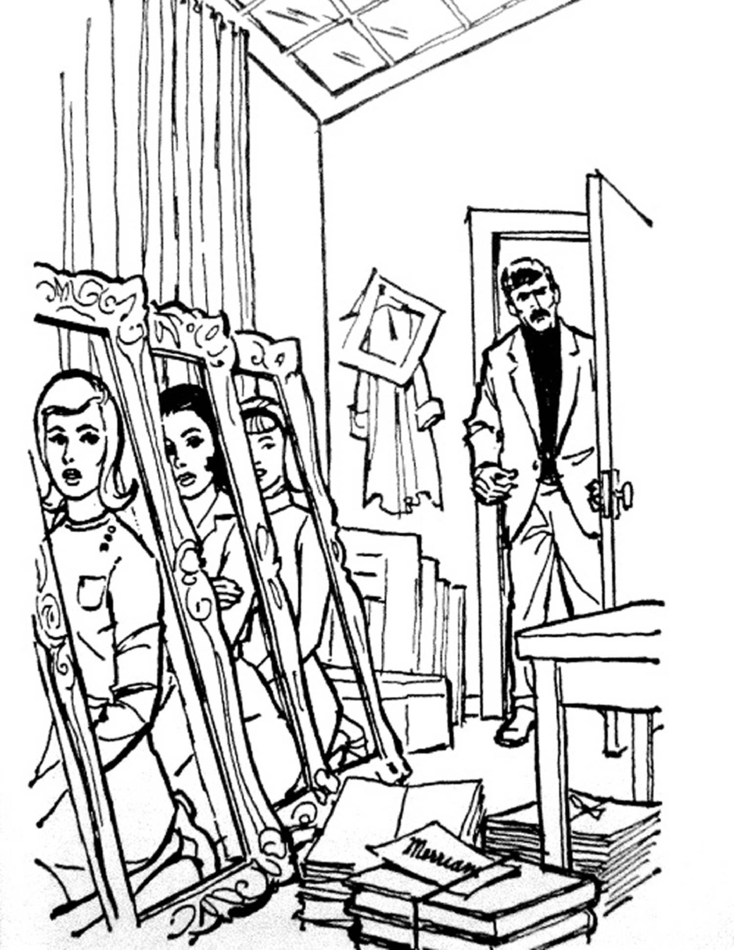 nancy drew coloring pages - photo#2